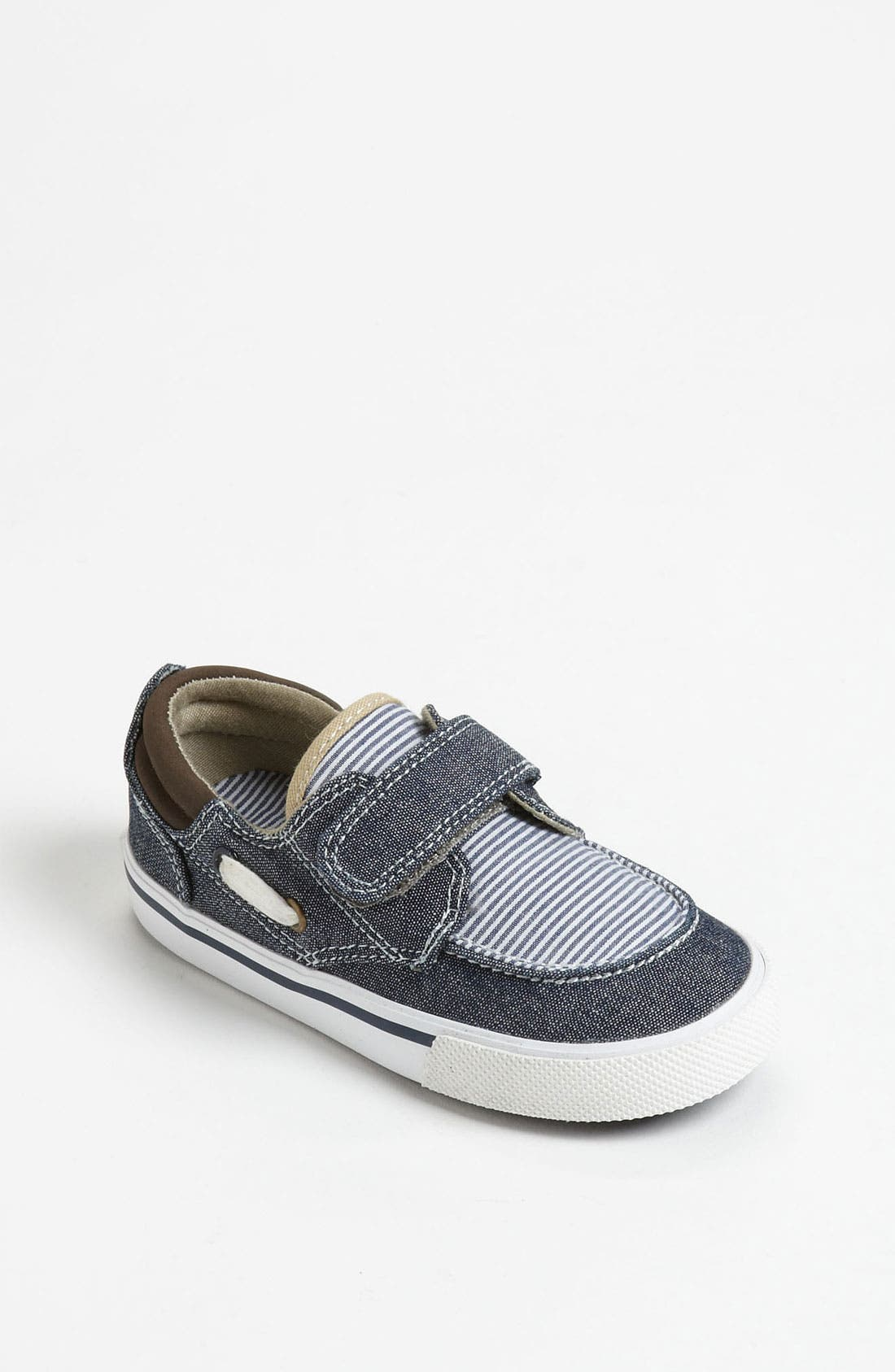 Alternate Image 1 Selected - Cole Haan 'Air Cory' Boat Shoe (Walker & Toddler)