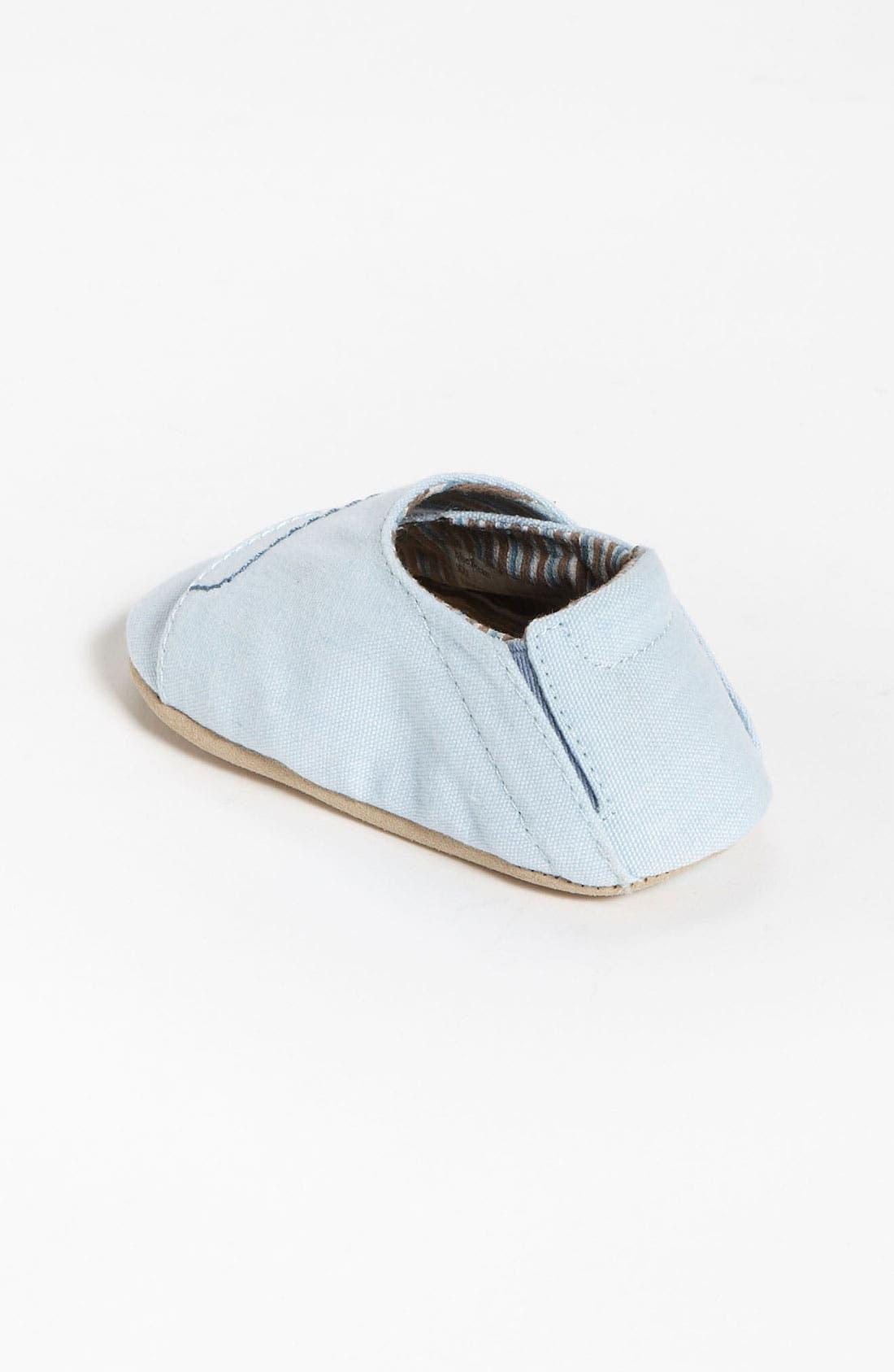 Alternate Image 2  - Stride Rite 'Blue Dream' Crib Shoe (Baby)