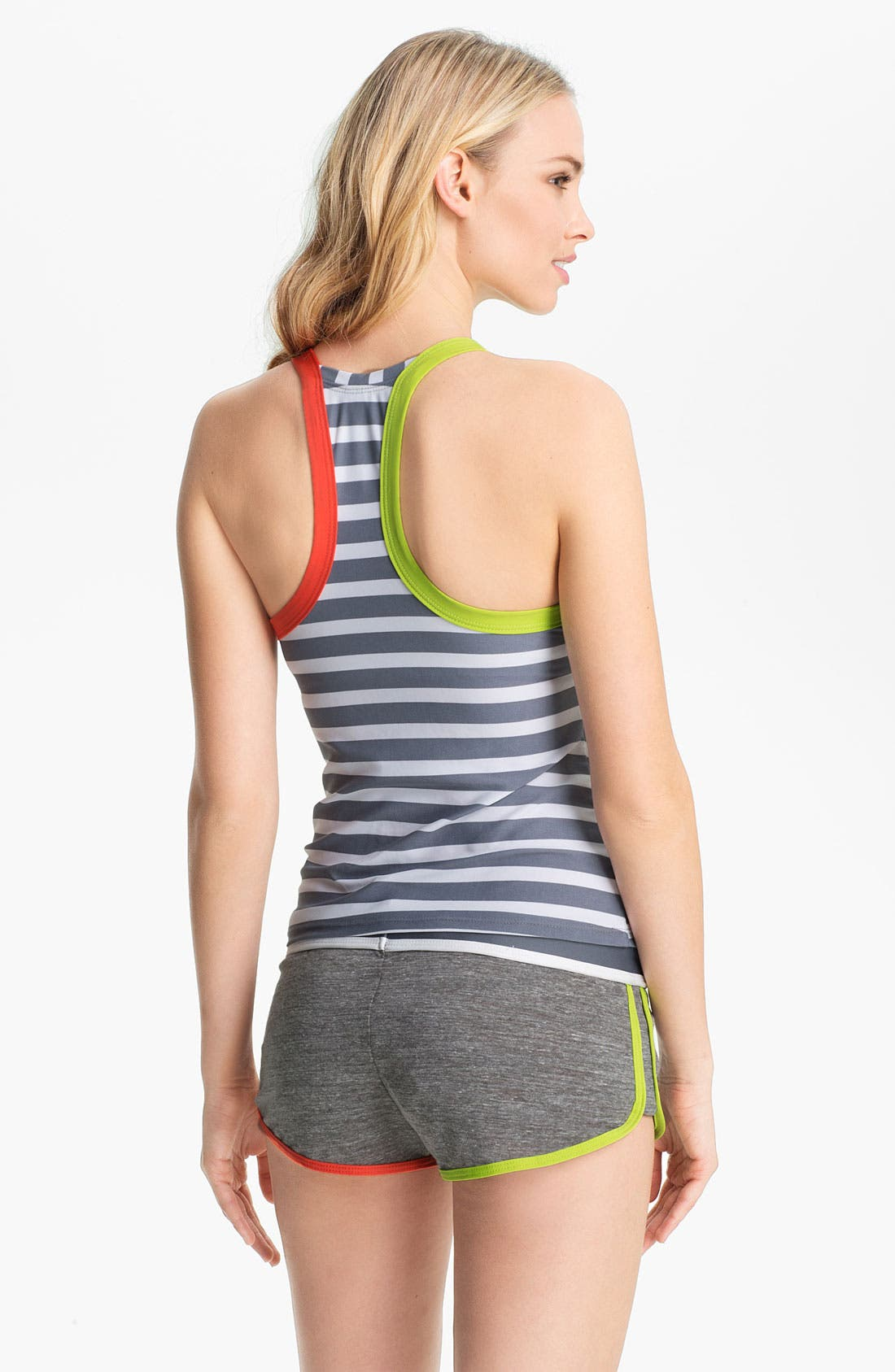 Alternate Image 5  - BCA 'Rugby' Racerback Tankini Top