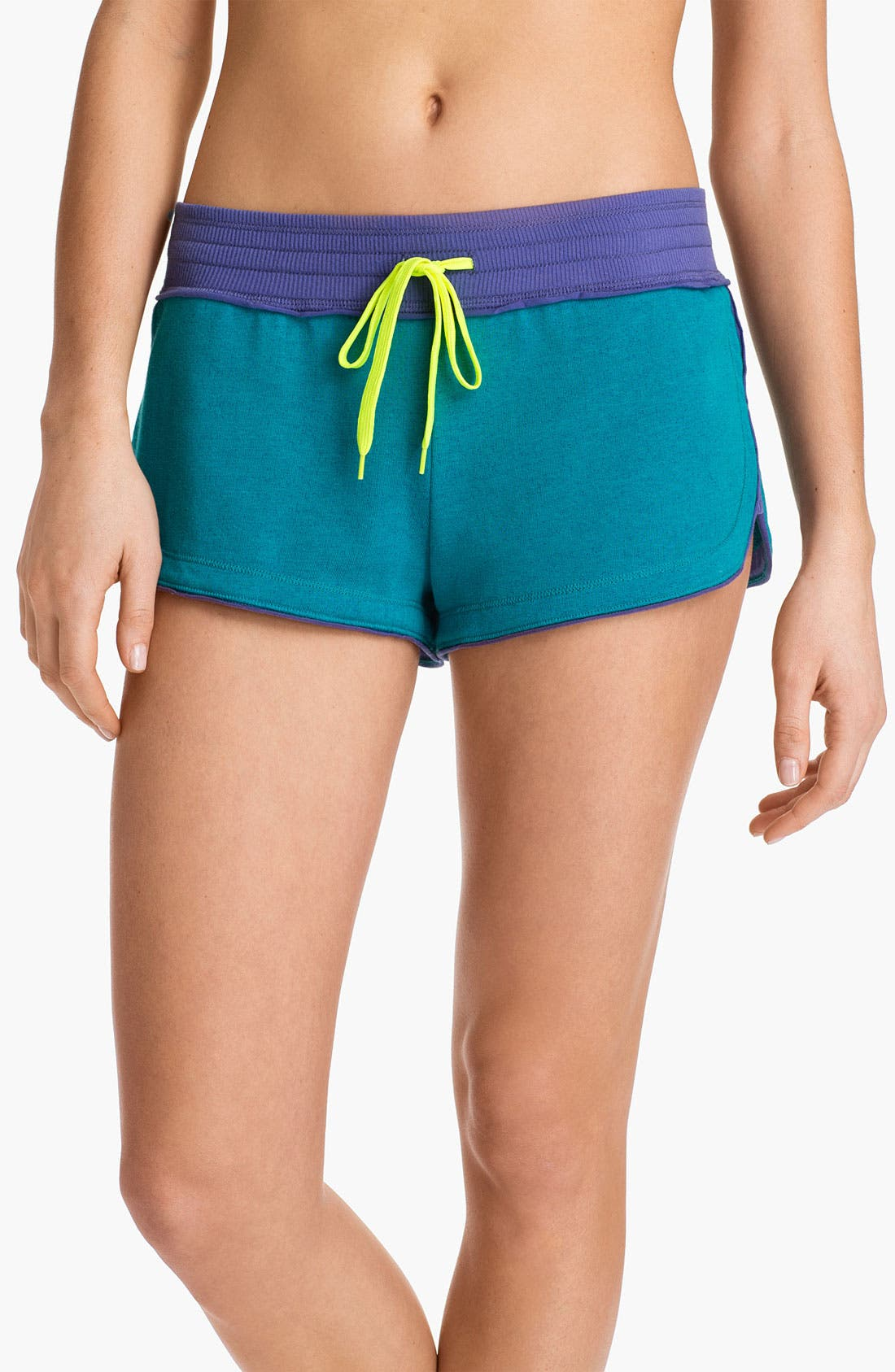 Alternate Image 1 Selected - Steve Madden 'Earn Your Stripes' Terry Lounge Shorts