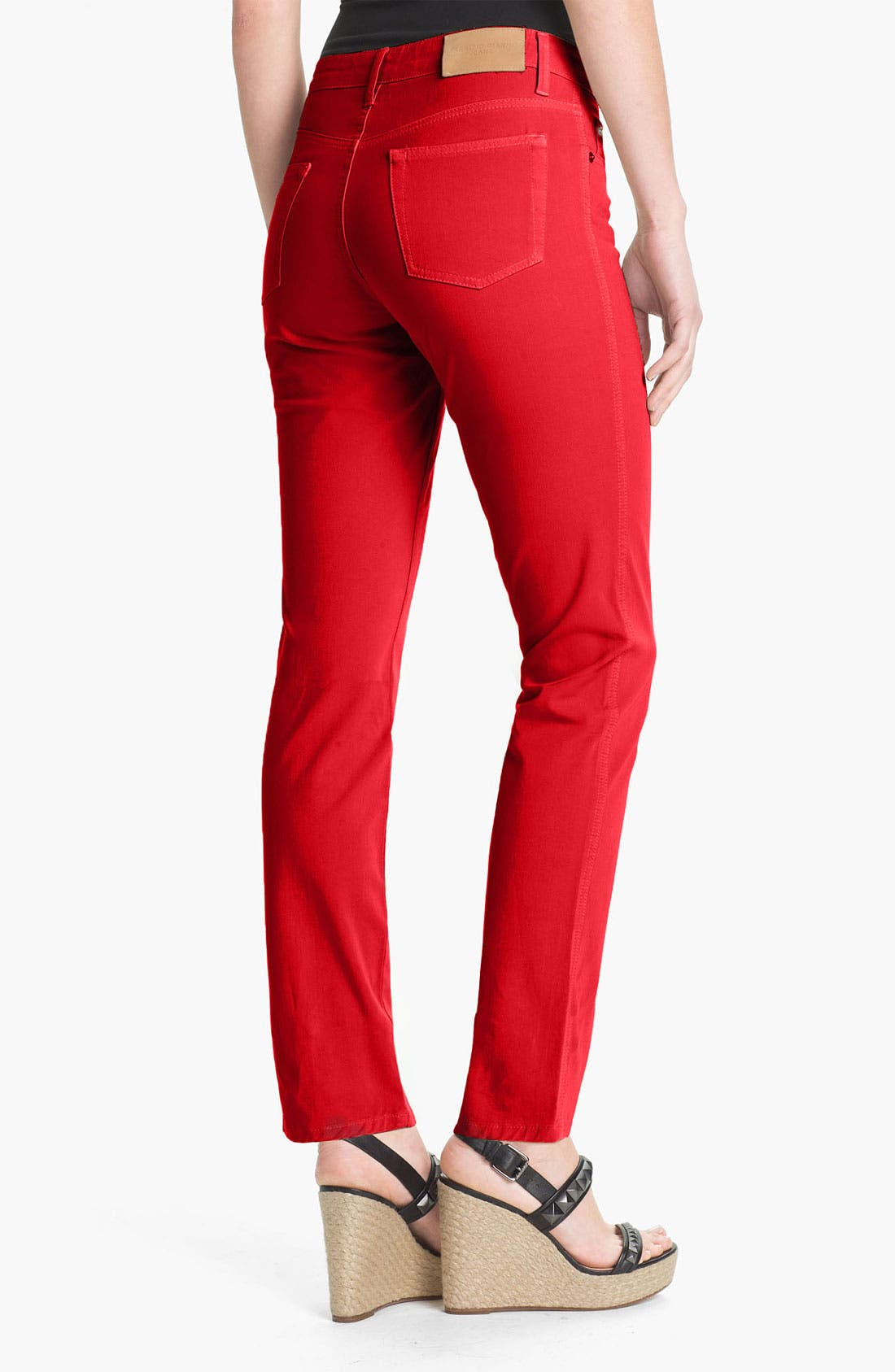Alternate Image 2  - Fabrizio Gianni 5-Pocket Slim Stretch Jeans (Online Only)