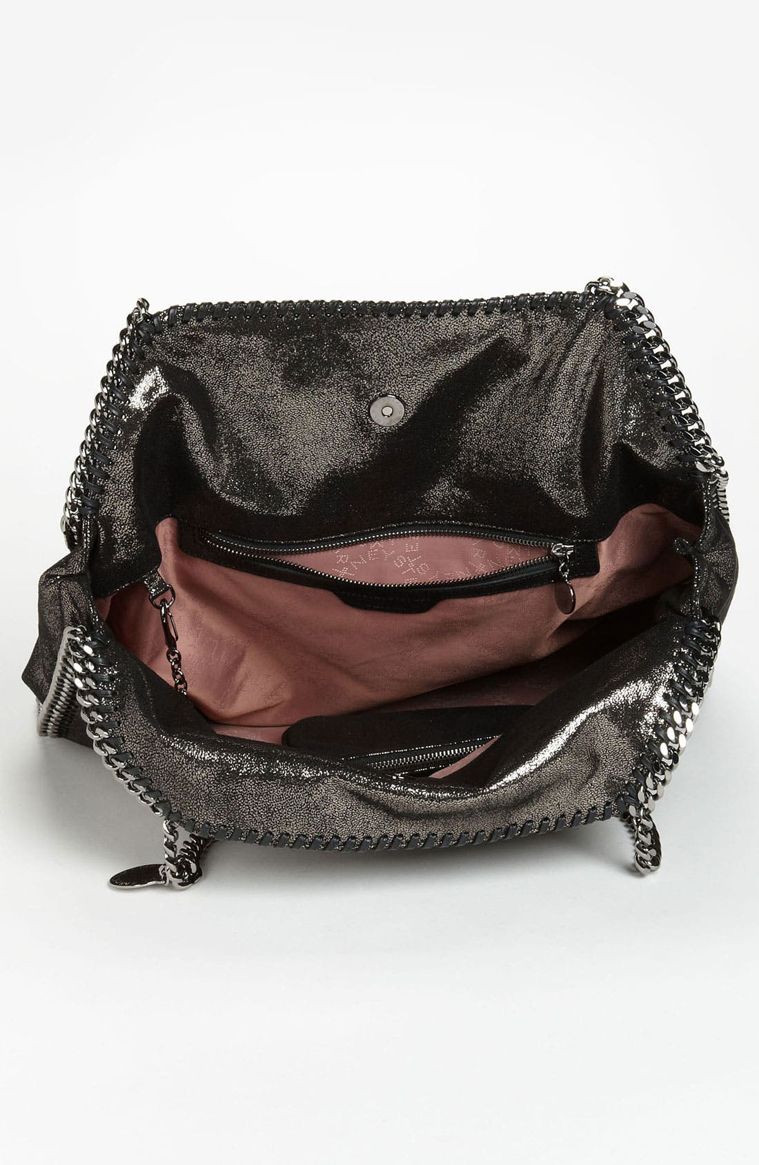 Alternate Image 3  - Stella McCartney 'Falabella - Large' Metallic Tote