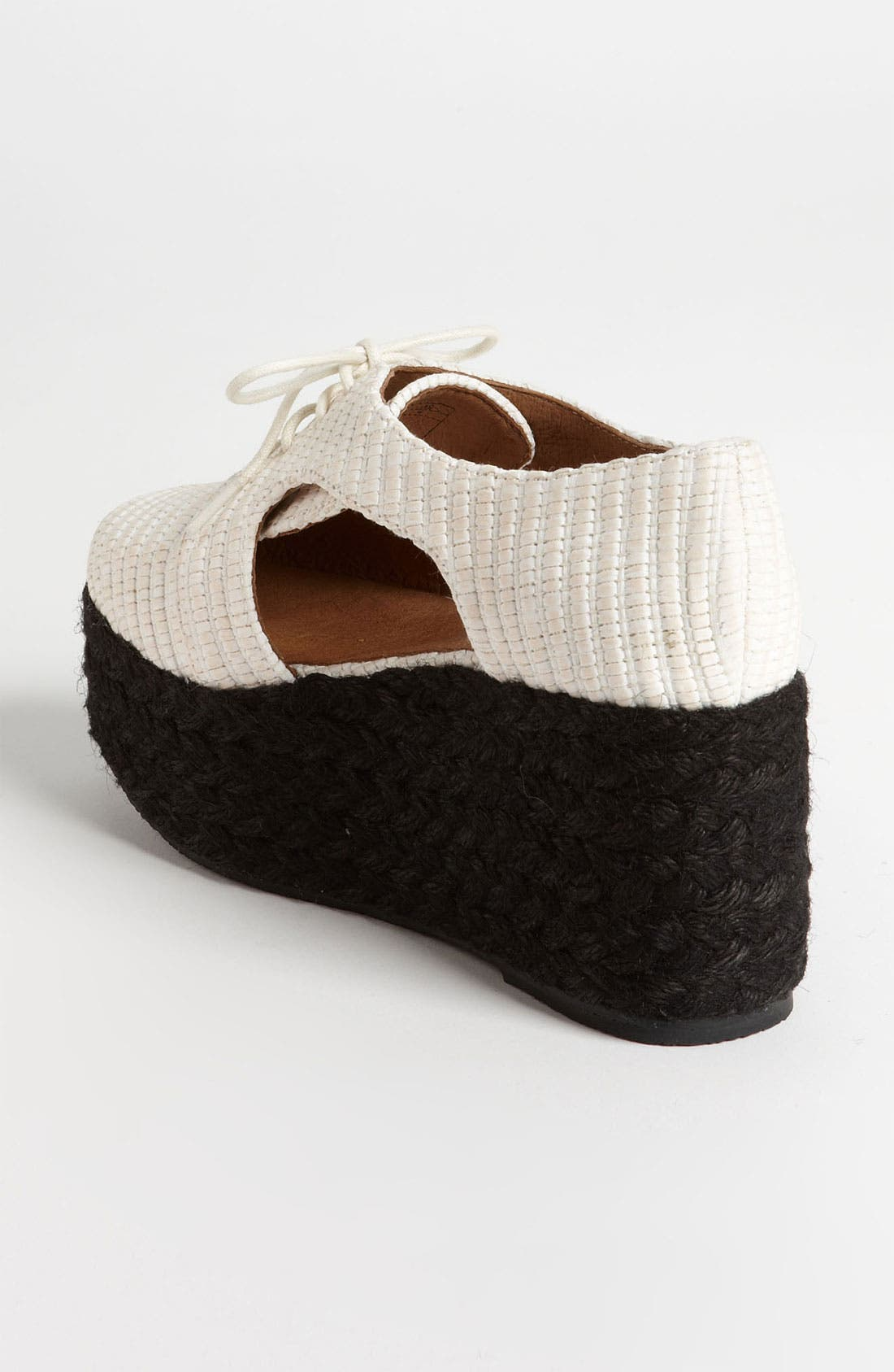 Alternate Image 2  - Jeffrey Campbell 'Clinton' Oxford Wedge
