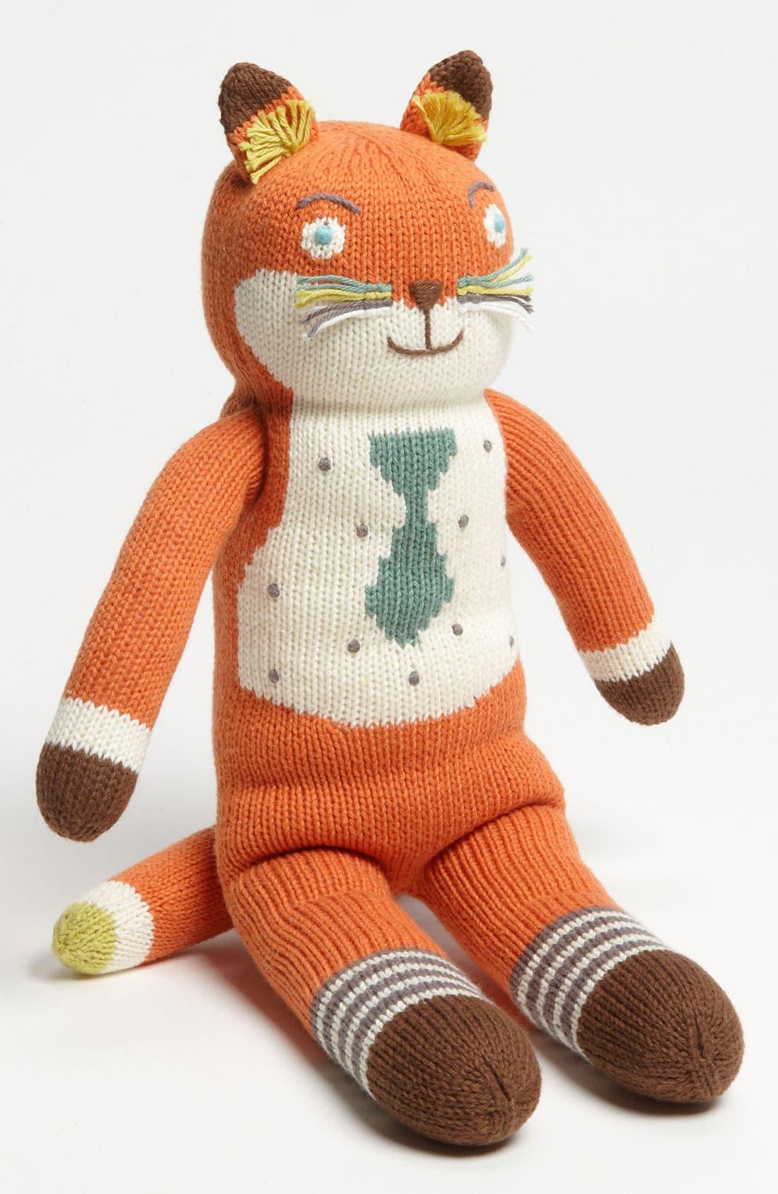 Main Image - Blabla 'Socks the Fox' Knit Doll