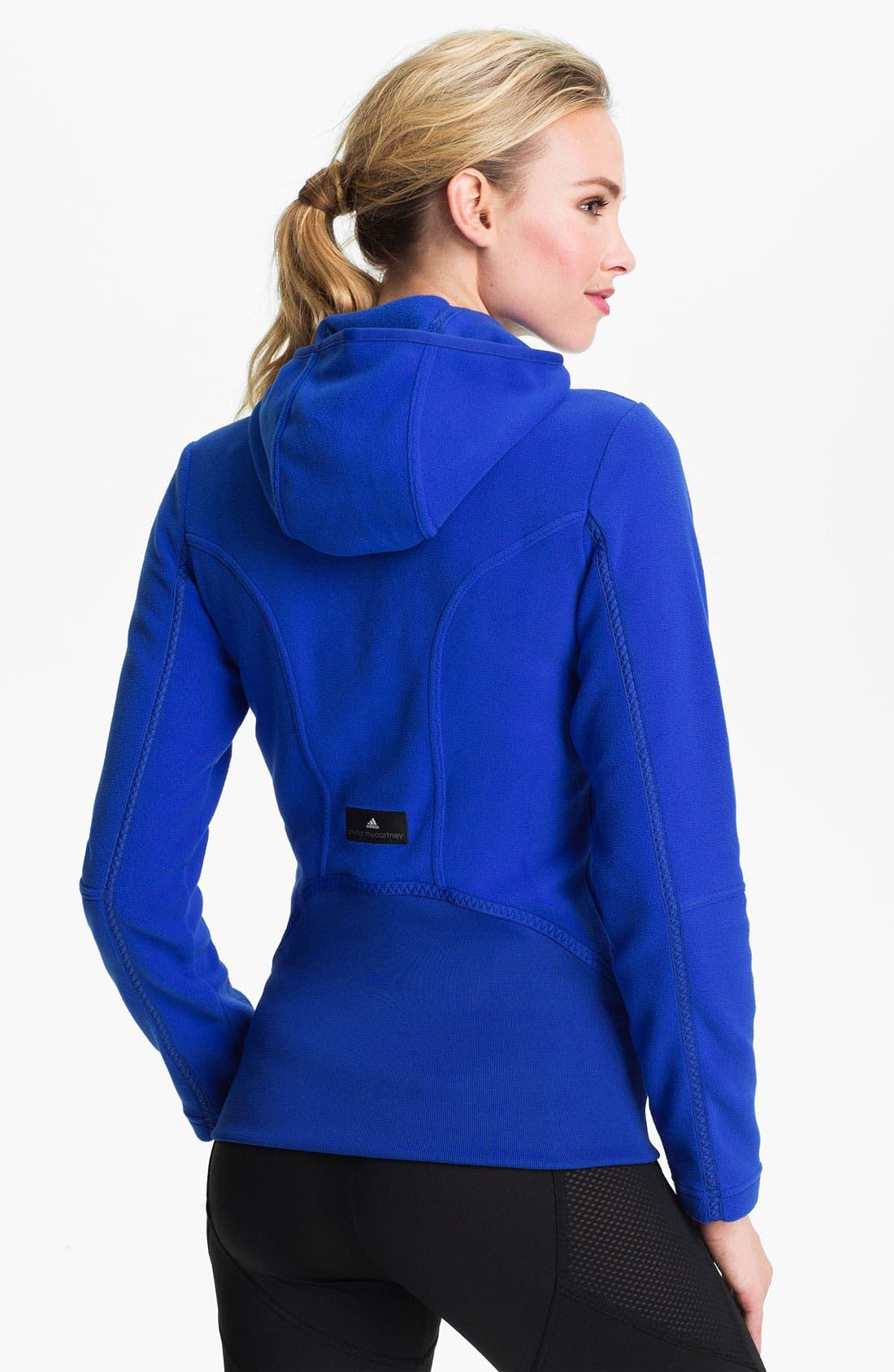 Alternate Image 2  - adidas by Stella McCartney 'Wintersports' Performance Fleece Jacket