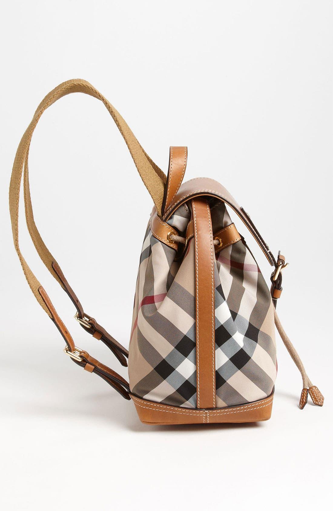 Alternate Image 2  - Burberry 'Dennis - Small' Backpack (Girls)