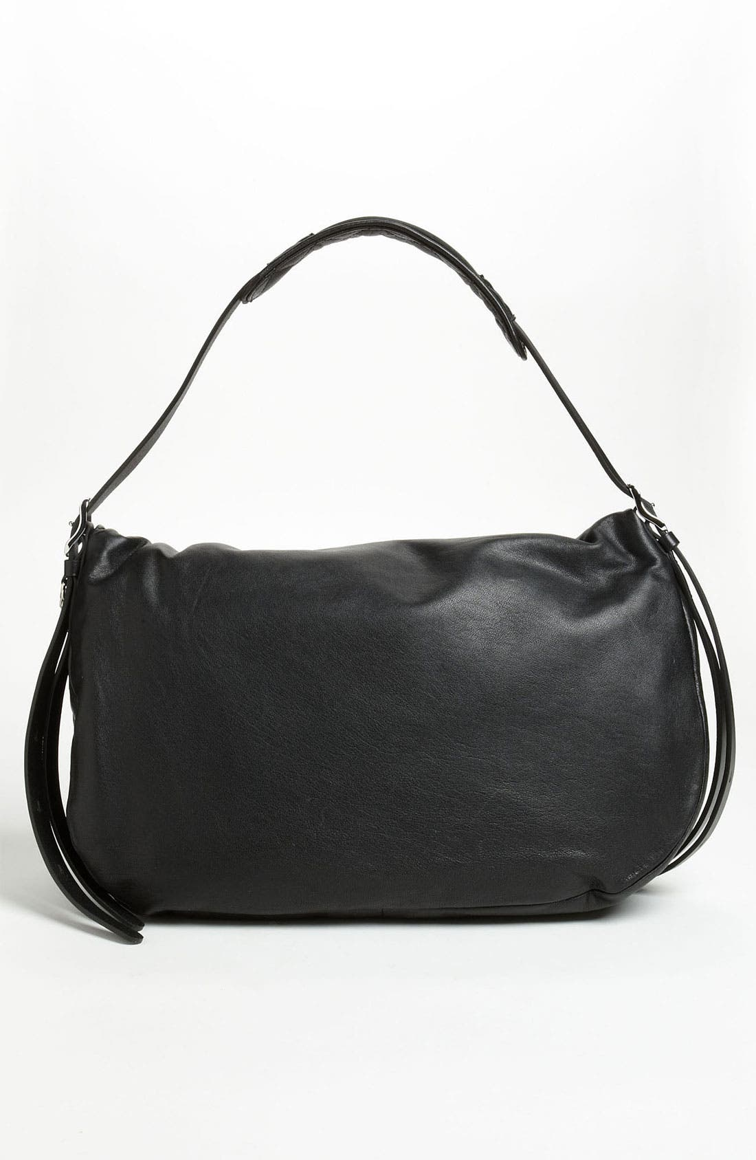 Alternate Image 4  - Jimmy Choo 'Biker - Large' Leather Shoulder Bag