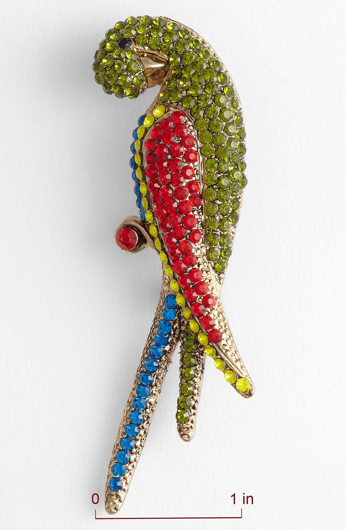 Alternate Image 2  - Tasha 'Critters' Parrot Brooch