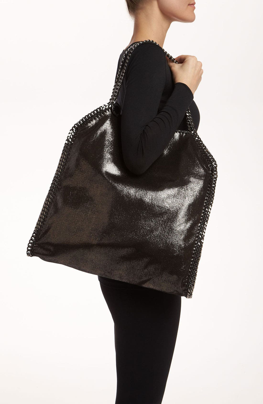 Alternate Image 2  - Stella McCartney 'Falabella - Large' Metallic Tote