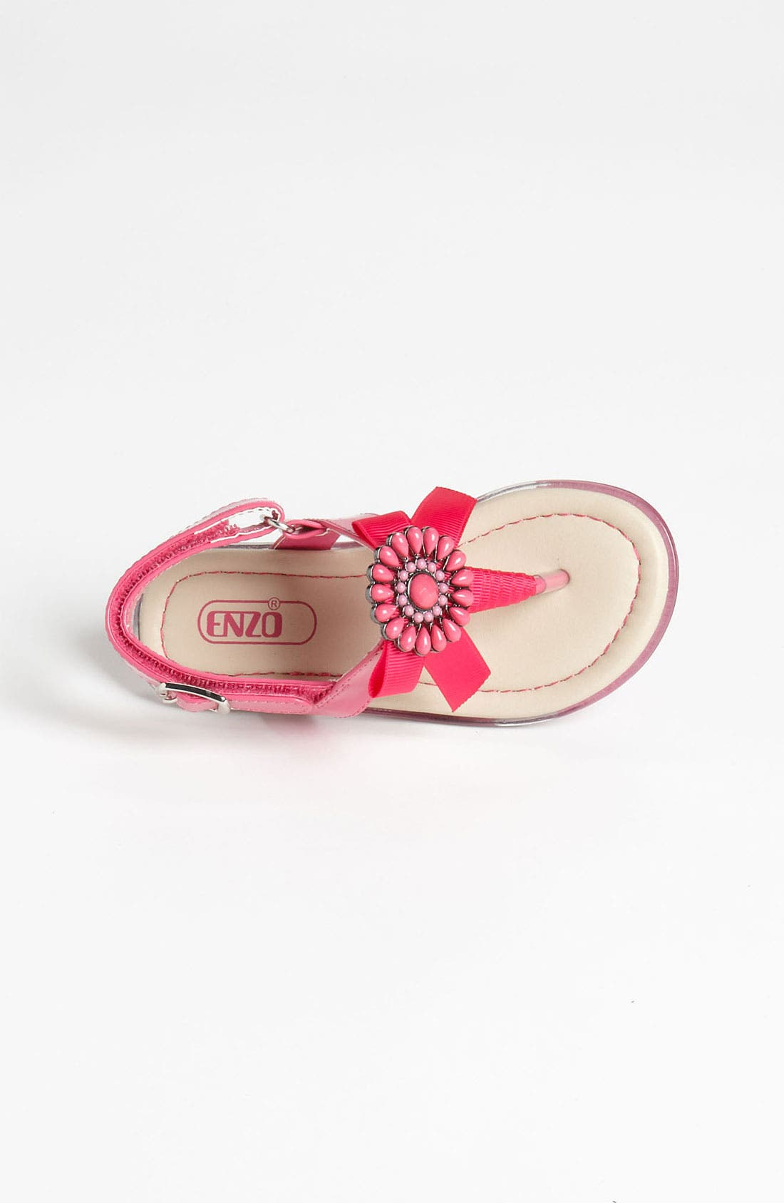 Alternate Image 3  - Enzo 'Kristina' Bow Sandal (Toddler)