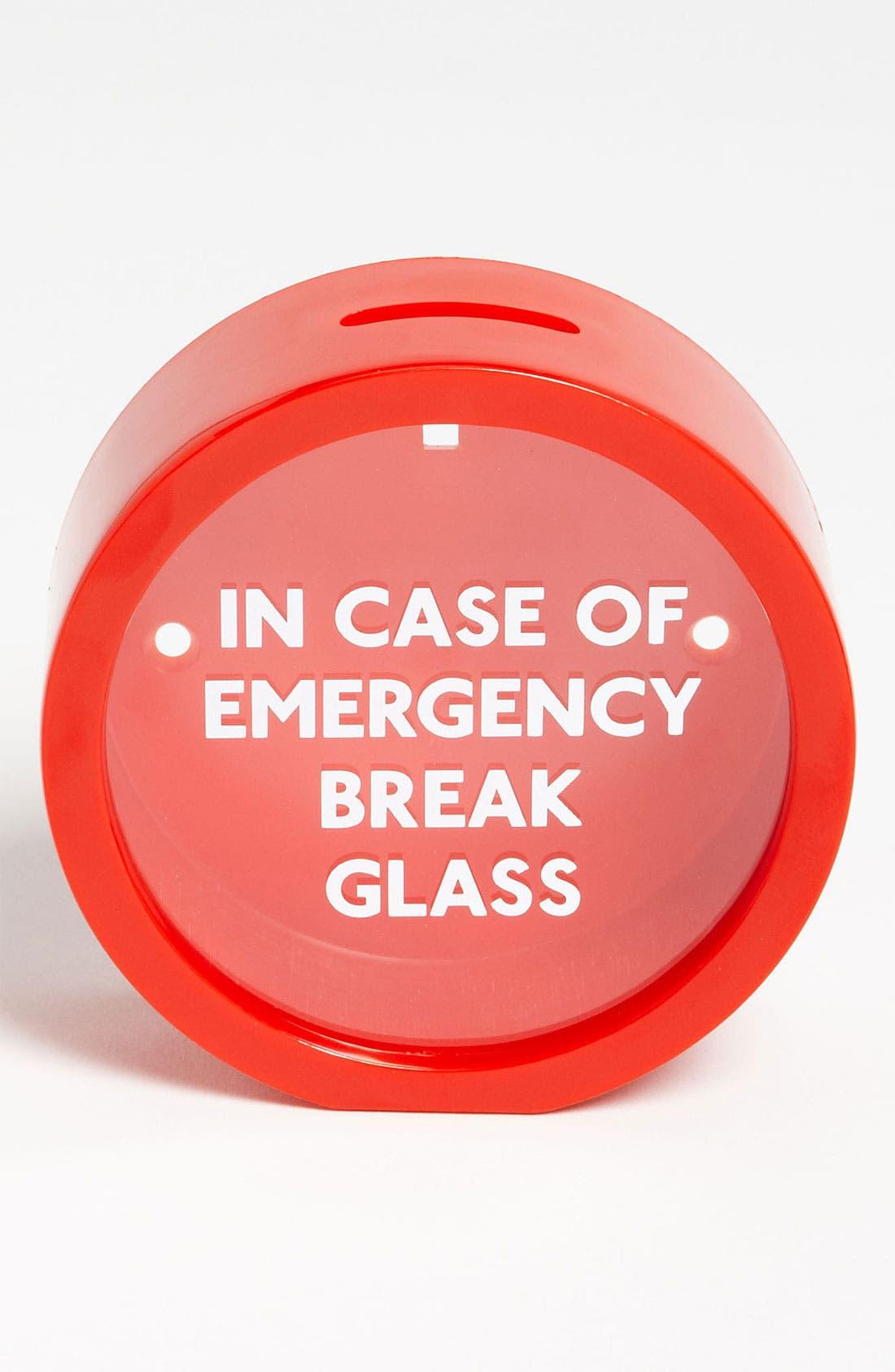 Alternate Image 1 Selected - Suck UK 'Emergency Break Glass'  Money Box
