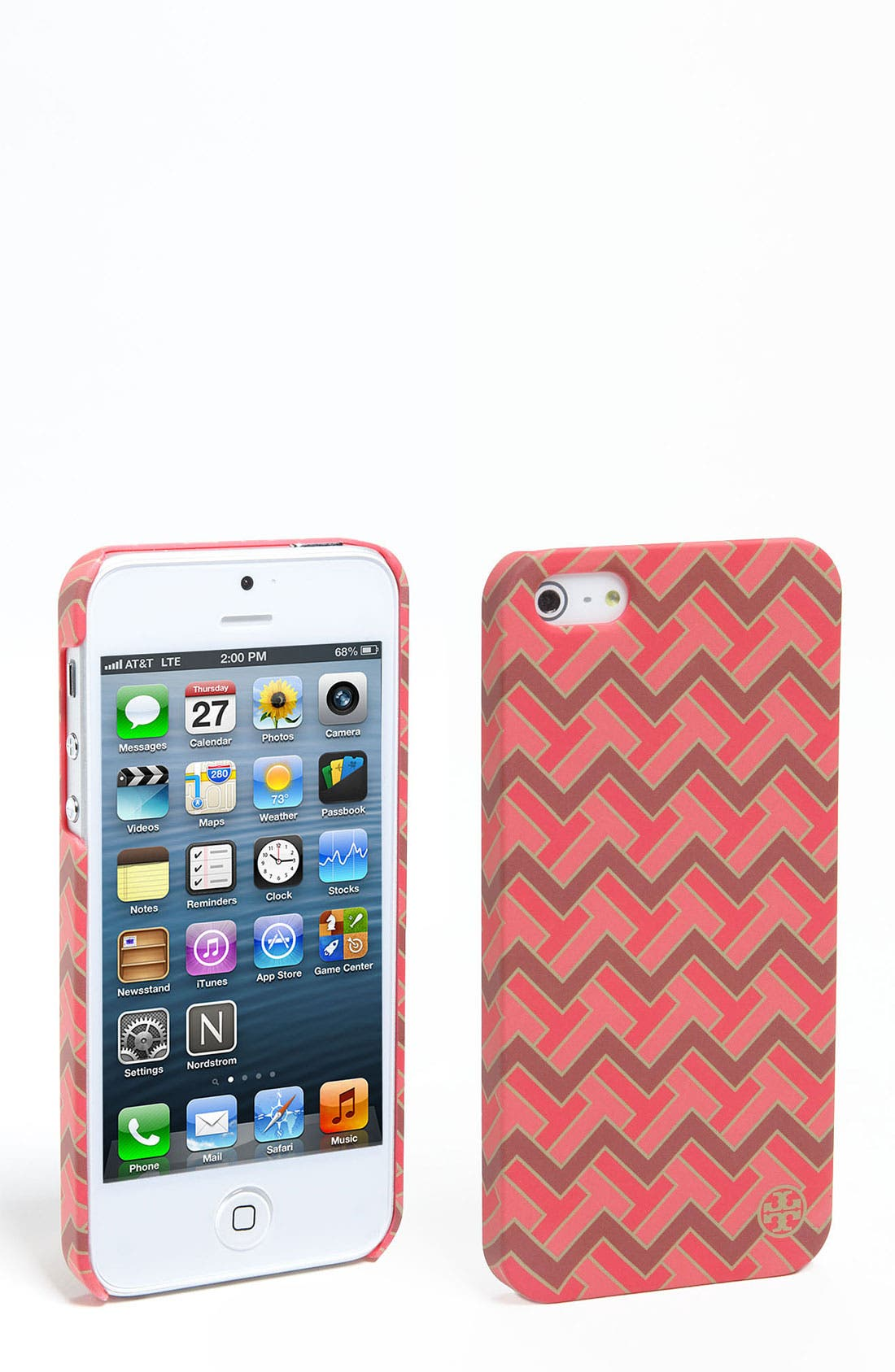 Alternate Image 1 Selected - Tory Burch 'T Zag' iPhone 5 Case