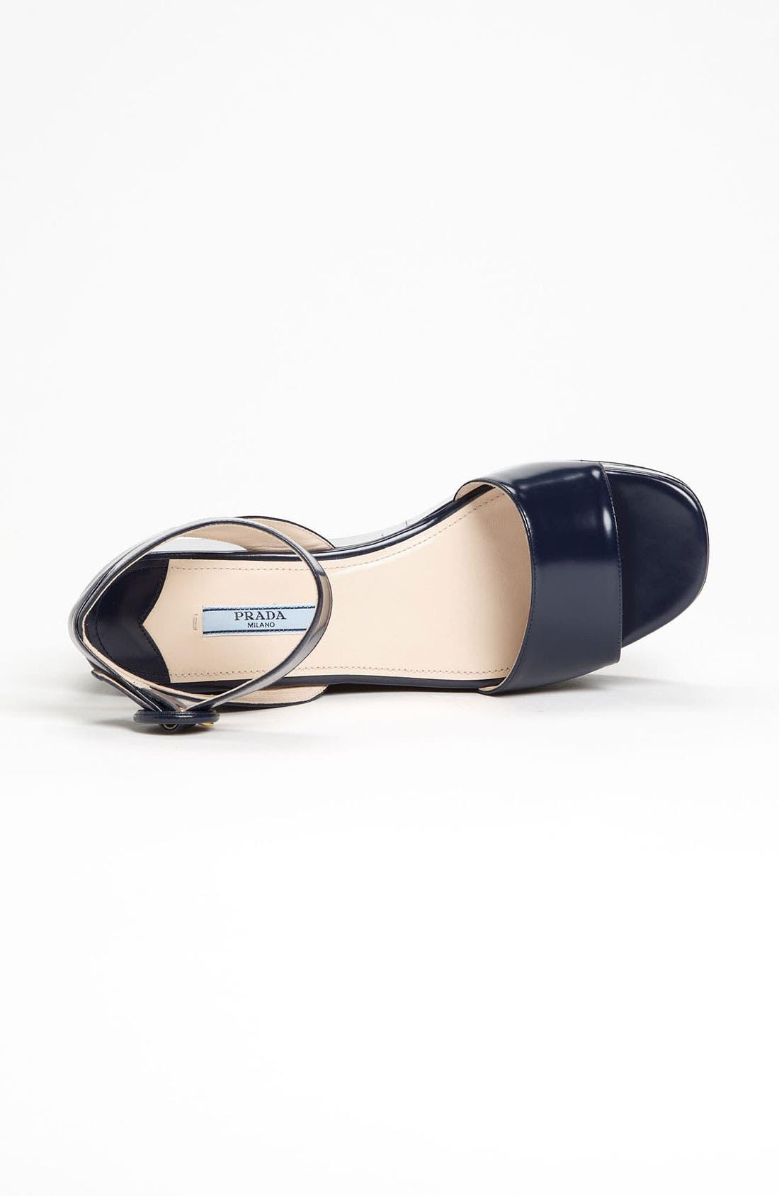 Alternate Image 3  - Prada Ankle Strap Wedge Sandal