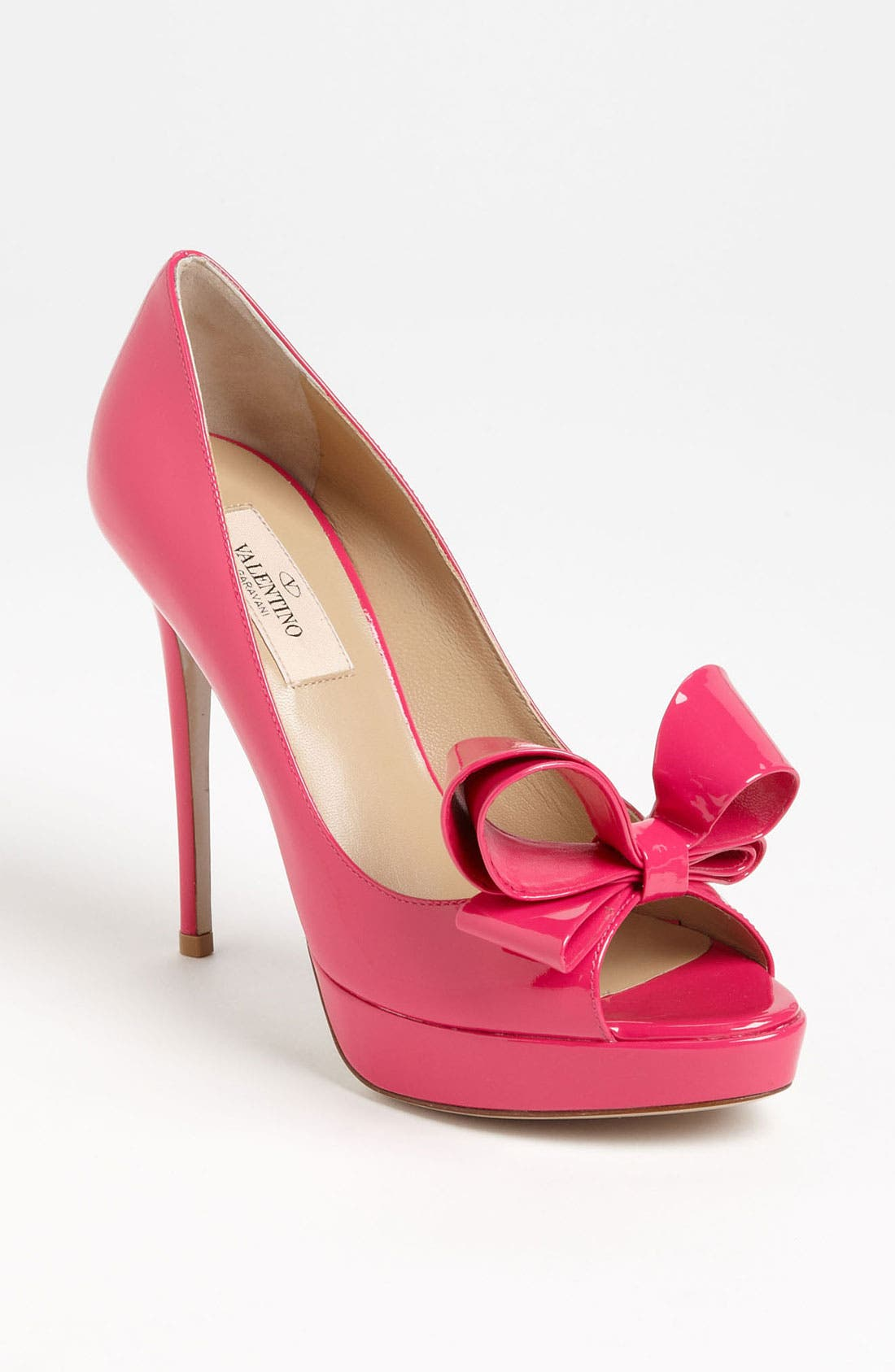 Alternate Image 1 Selected - Valentino Couture Bow Platform Pump (Women)