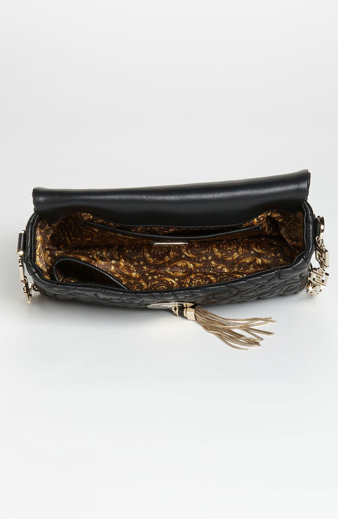 Alternate Image 3  - Versace 'Vanitas - Small' Embroidered Leather Shoulder Bag