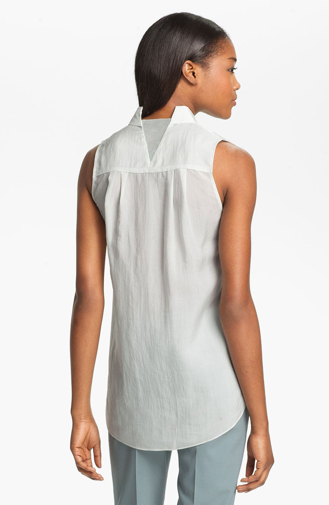 Alternate Image 3  - Theyskens' Theory 'Buzzy Faniel' Sleeveless Blouse