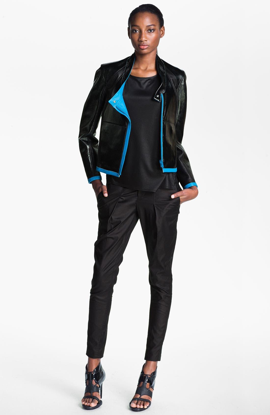 Alternate Image 7  - Helmut Lang Reversible Leather Jacket