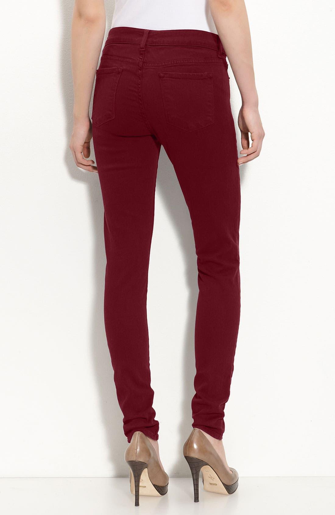 Alternate Image 2  - Blue Essence Color Skinny Jeans (Nordstrom Exclusive)
