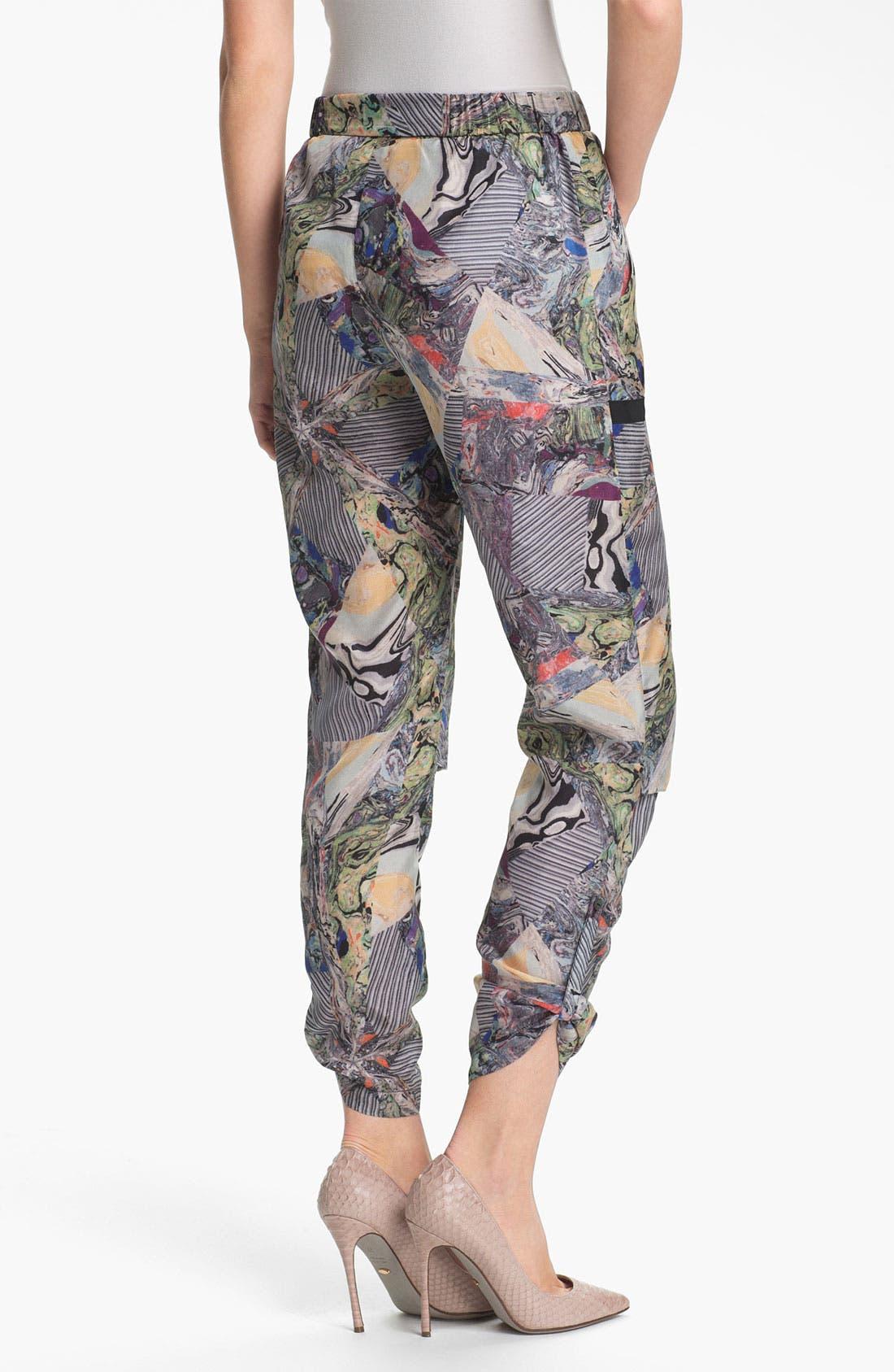 Alternate Image 2  - Kelly Wearstler 'Array' Print Silk Pants