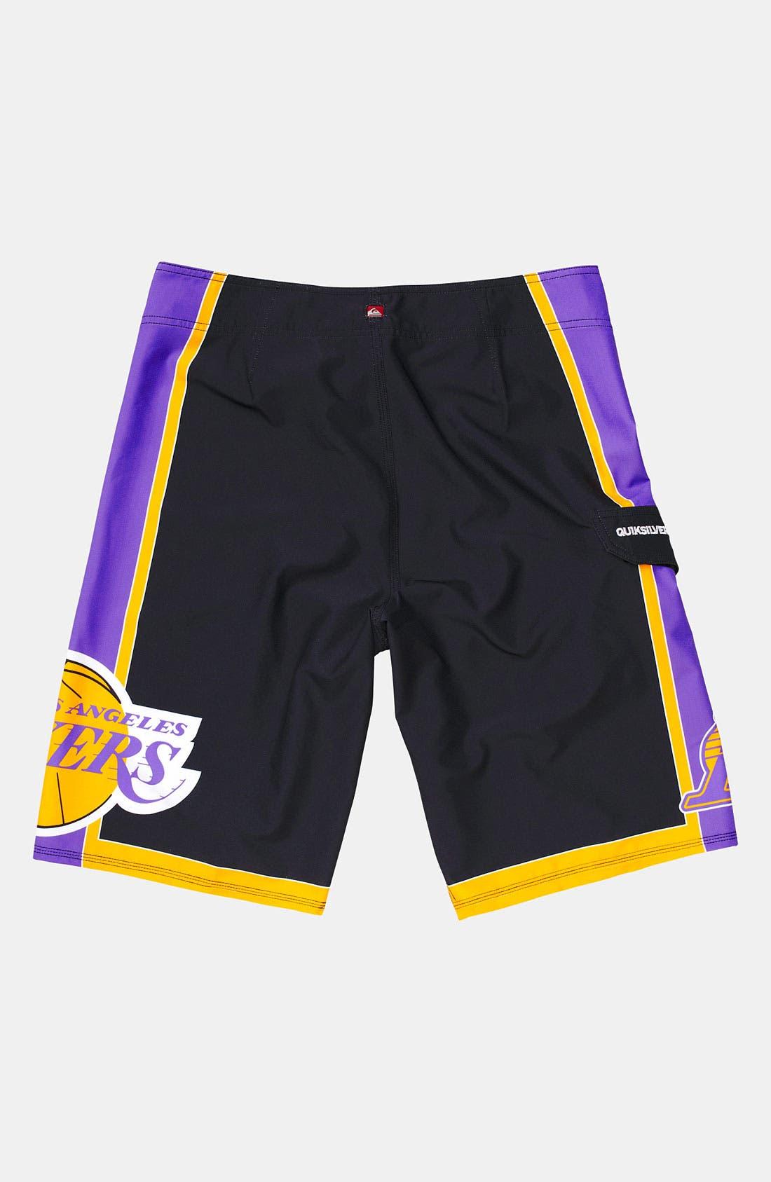 Alternate Image 2  - Quiksilver 'Lakers' Board Shorts (Big Boys)