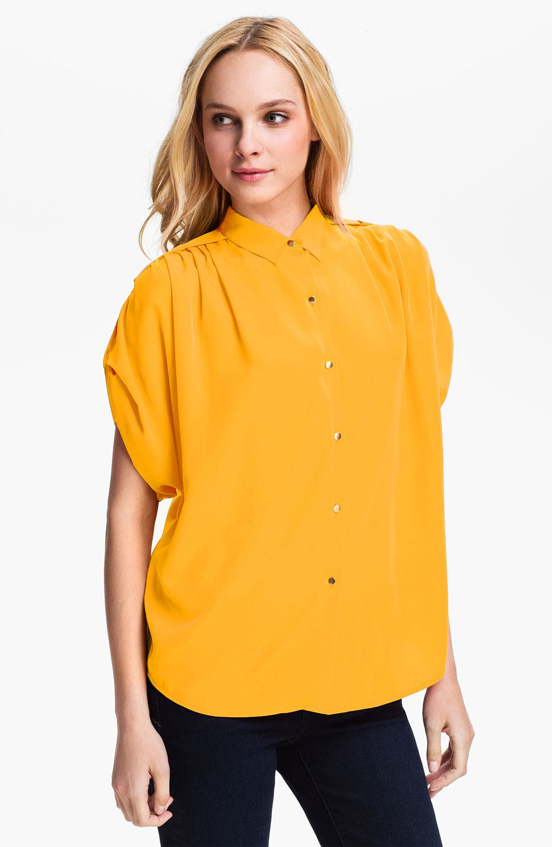 Alternate Image 1 Selected - Vince Camuto Cap Sleeve Blouse