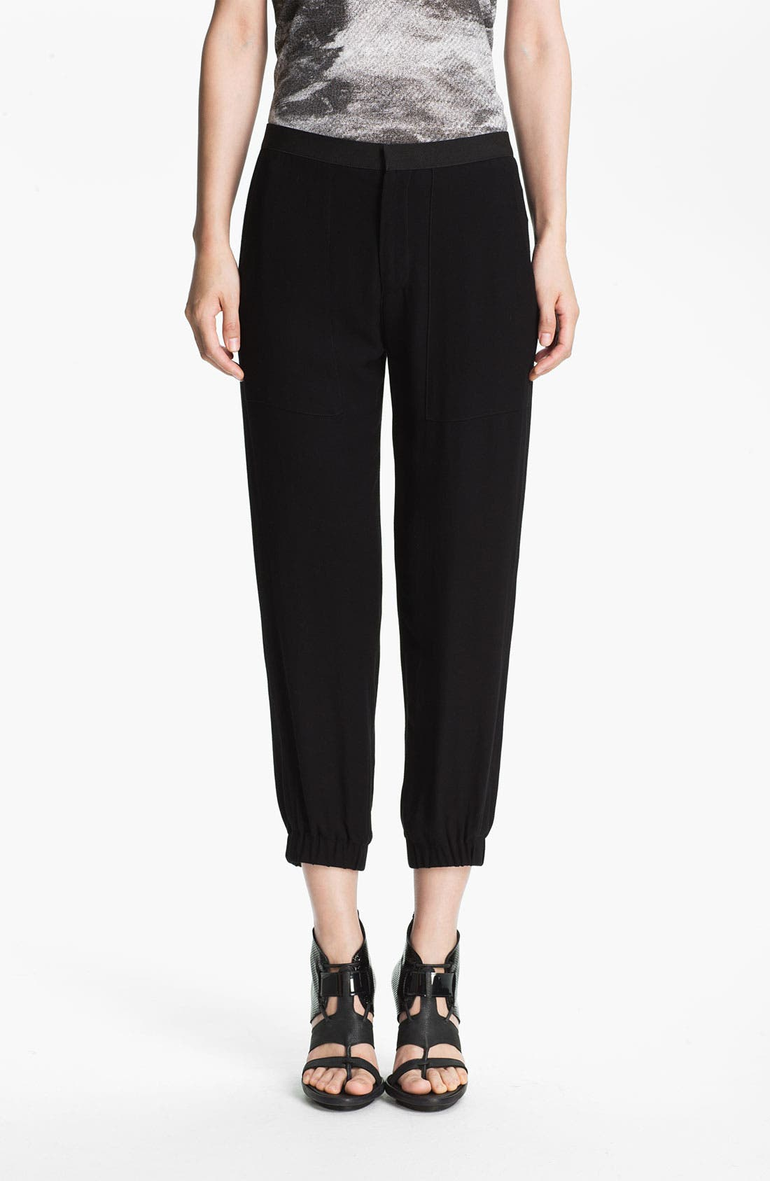 Alternate Image 1 Selected - HELMUT Helmut Lang 'Flash' Draped Pants