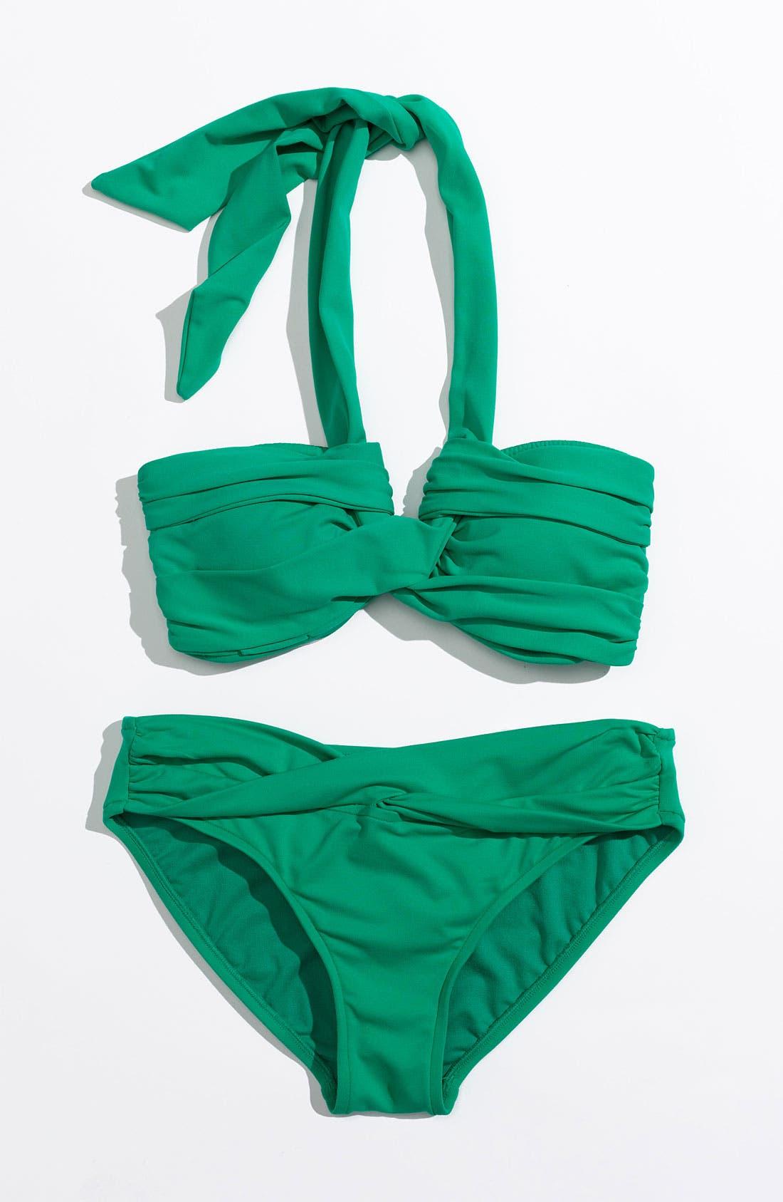 Alternate Image 1 Selected - Seafolly Bikini Top & Bottoms