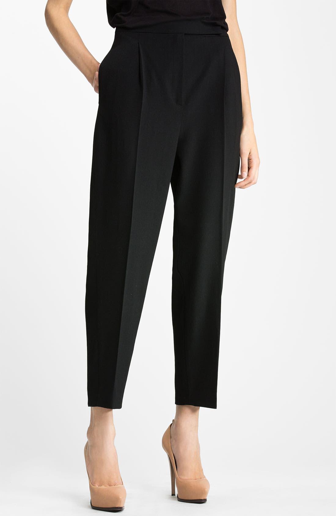 Alternate Image 1 Selected - Lanvin Wool Crepe Crop Pants
