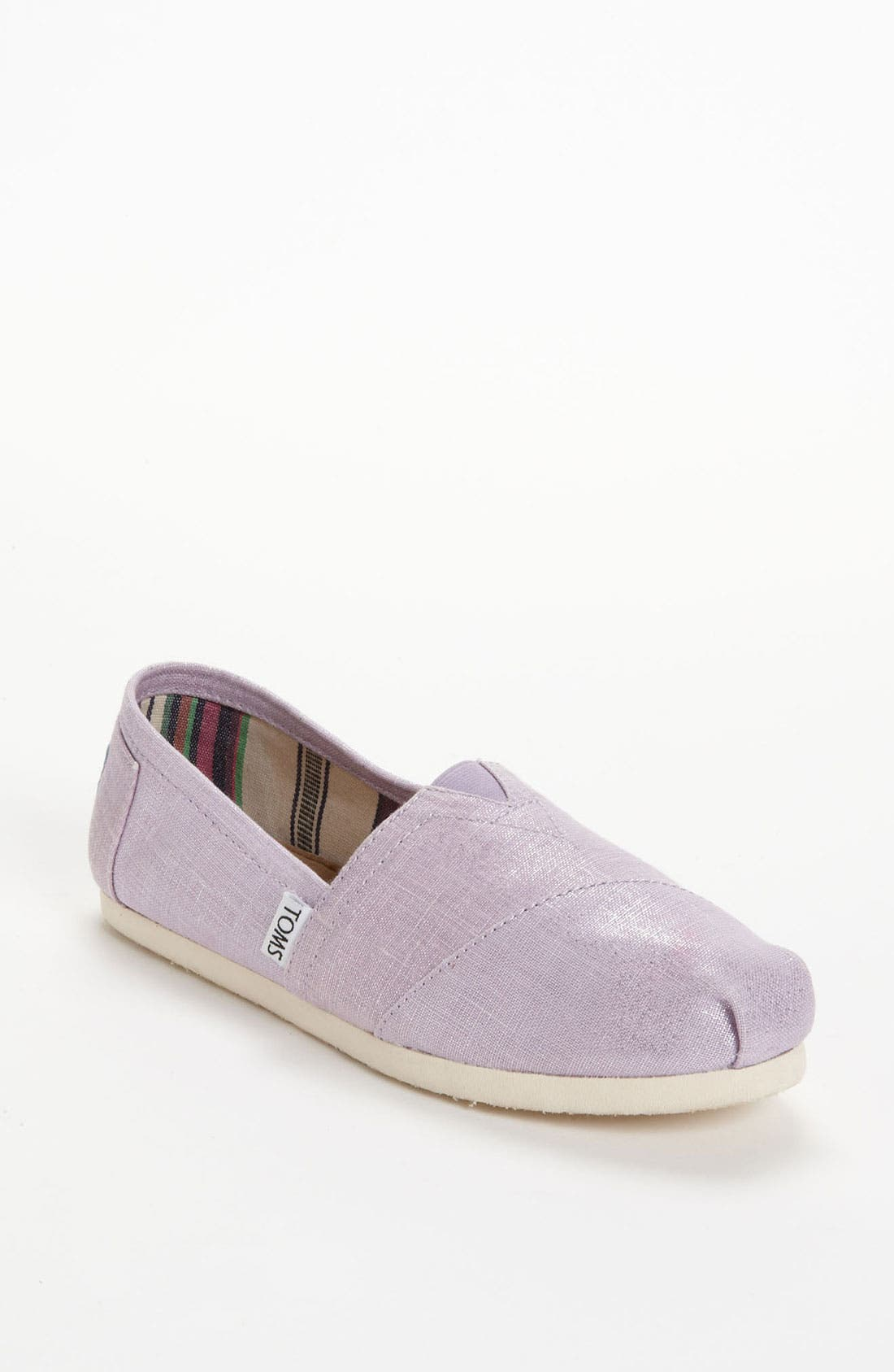 Alternate Image 1 Selected - TOMS 'Classic' Metallic Slip-On (Women)