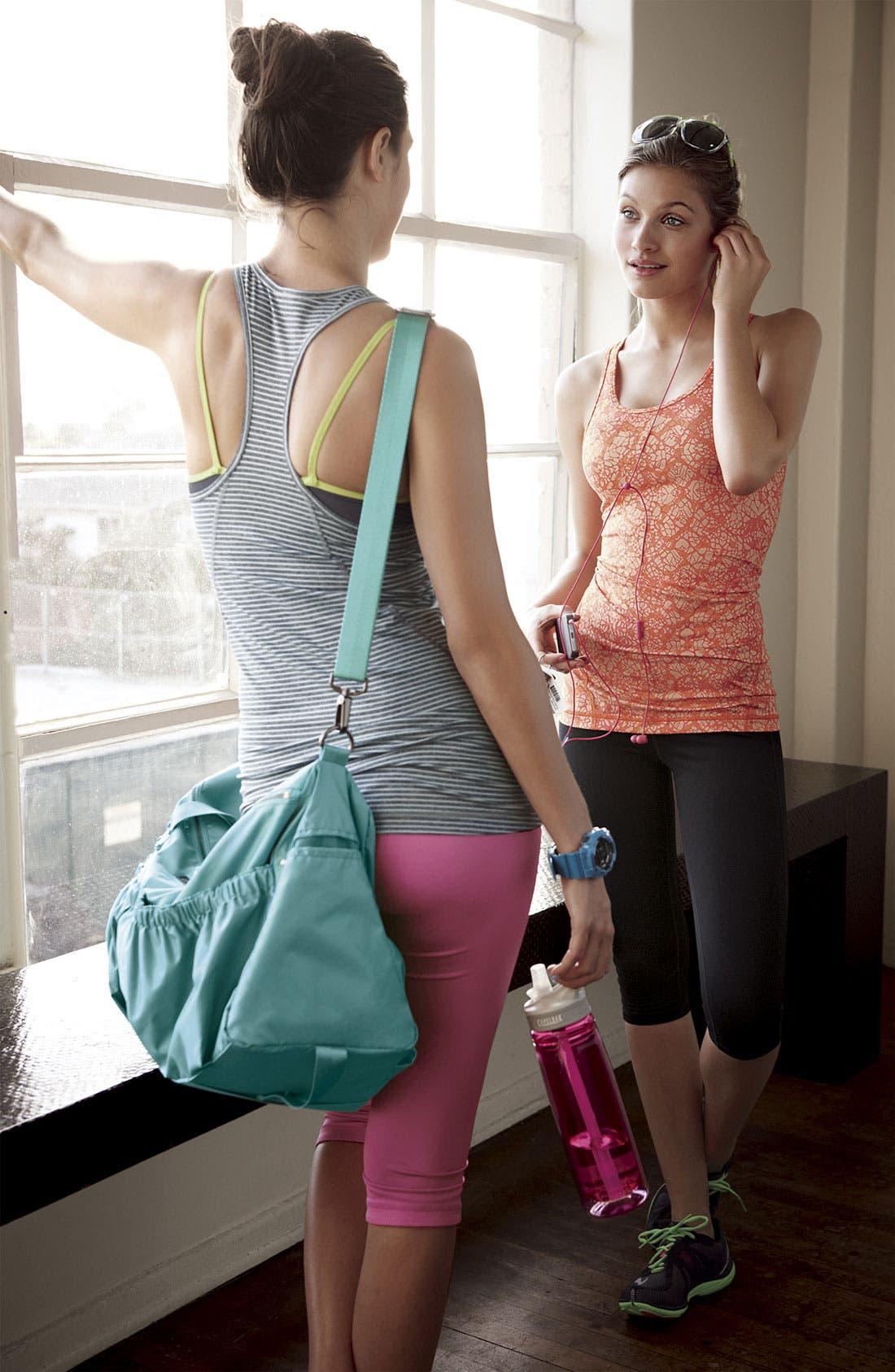 Alternate Image 5  - Zella Pocketed Duffel Bag