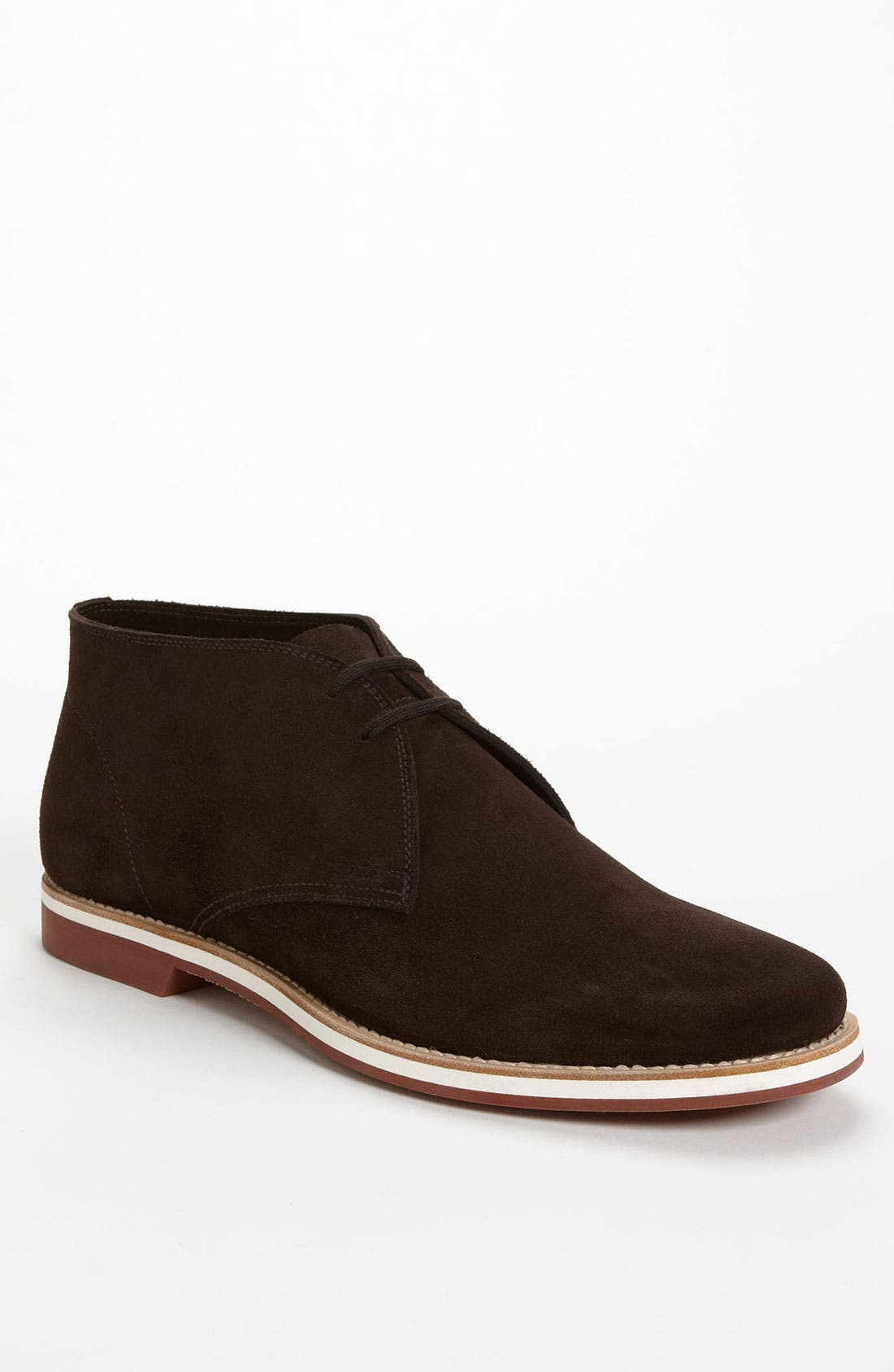 Alternate Image 1 Selected - Prada Suede Chukka Boot (Men)