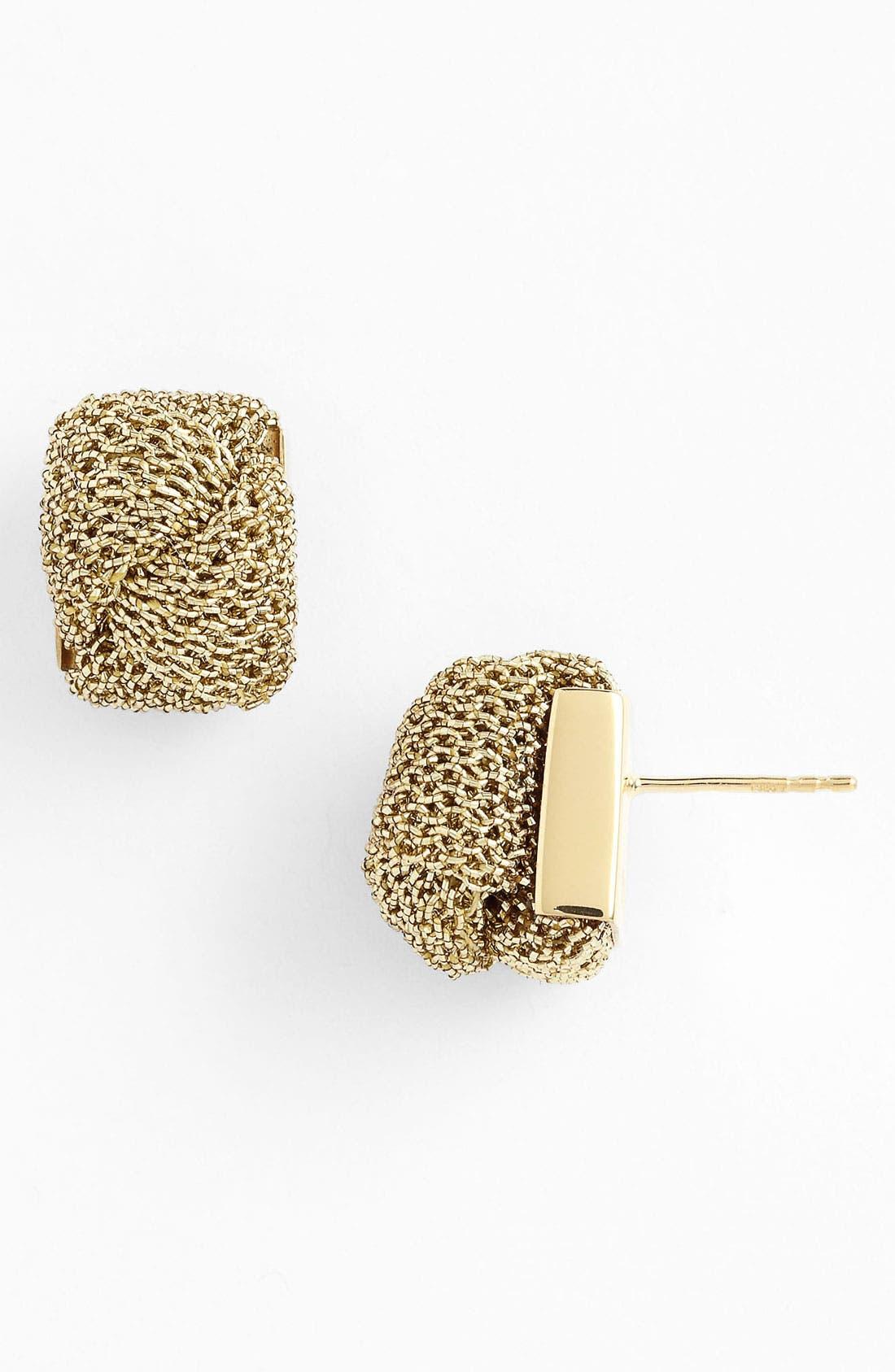 Alternate Image 1 Selected - Adami & Martucci 'Mesh' Stud Earrings