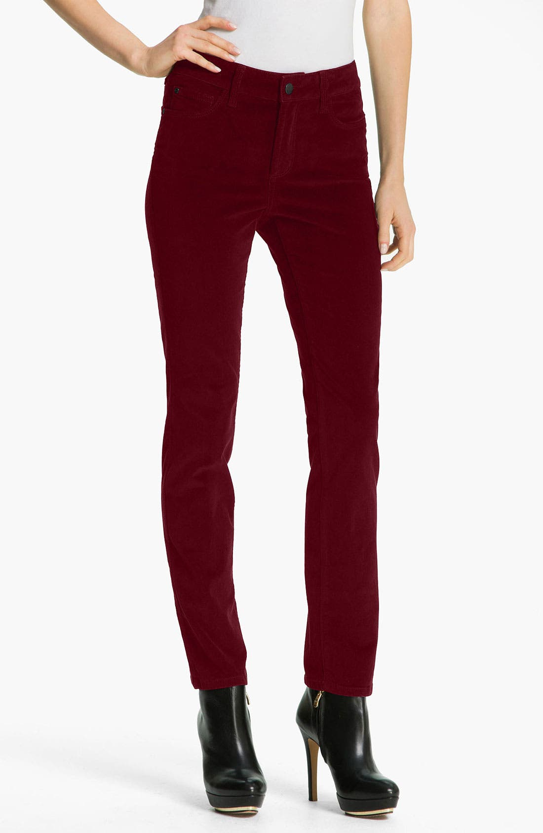 Alternate Image 1 Selected - NYDJ Skinny Corduroy Jeans (Petite)