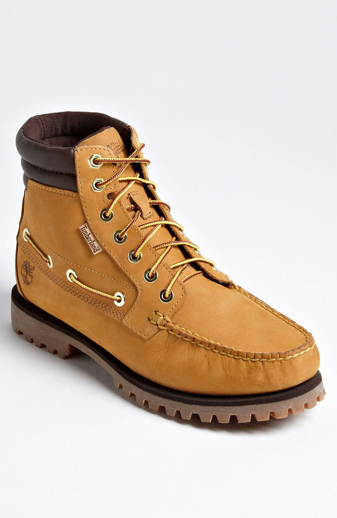 Alternate Image 1 Selected - TIMBERLAND OAKWELL 7 EYE MOC TOE BOOT