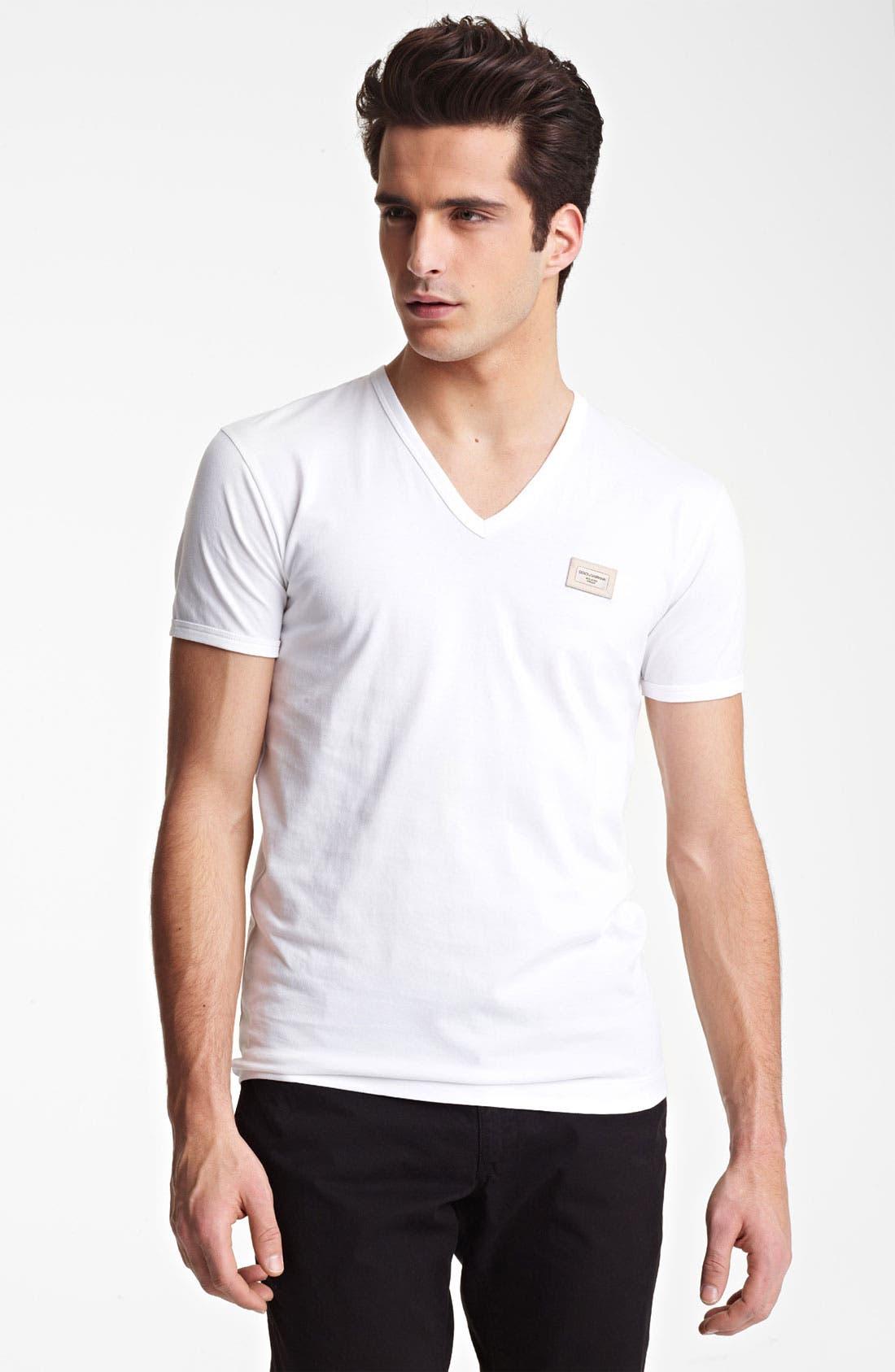 Main Image - Dolce&Gabbana V-Neck T-Shirt