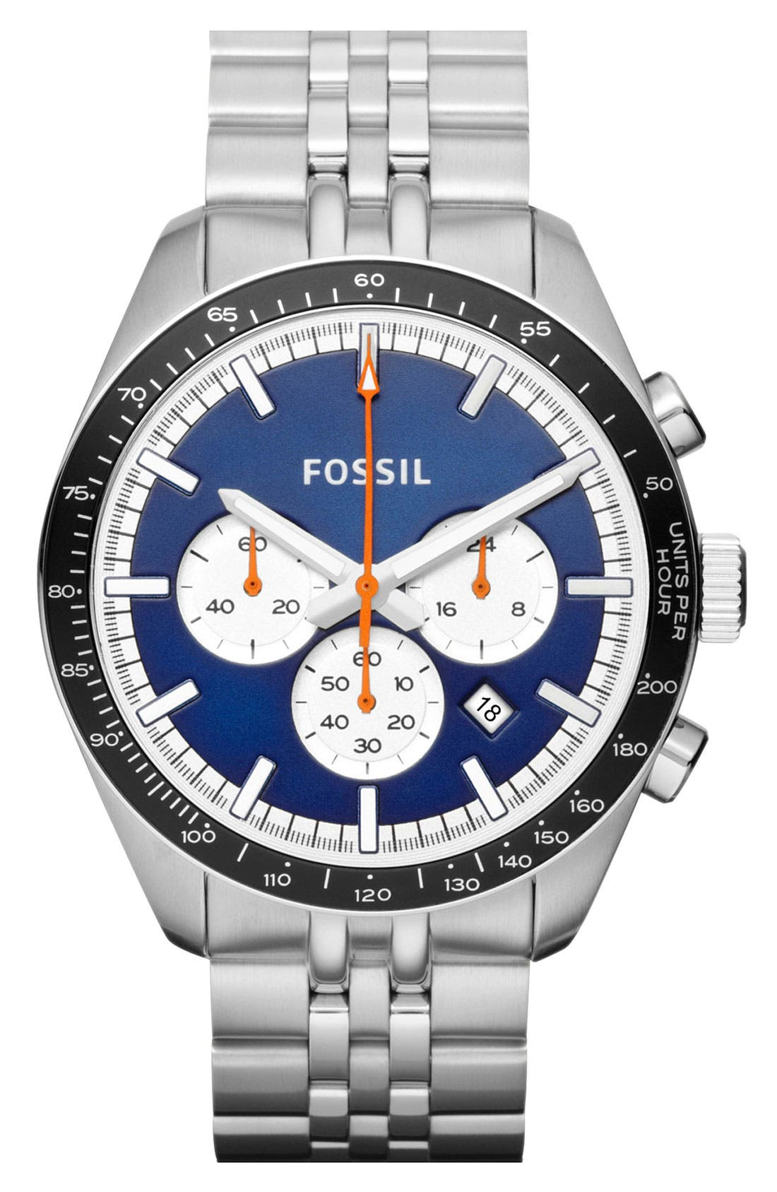 Alternate Image 1 Selected - Fossil 'Edition Sport' Chronograph Watch, 45mm