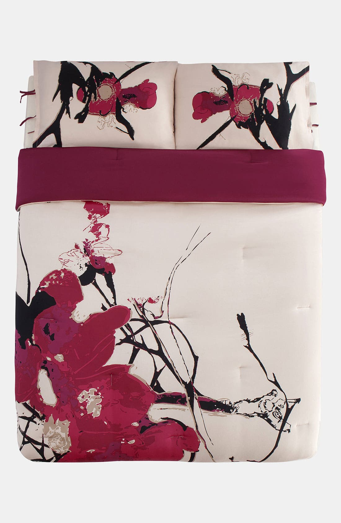 Main Image - kensie 'Blossom' 300 Thread Count Duvet Cover Set (Online Only)