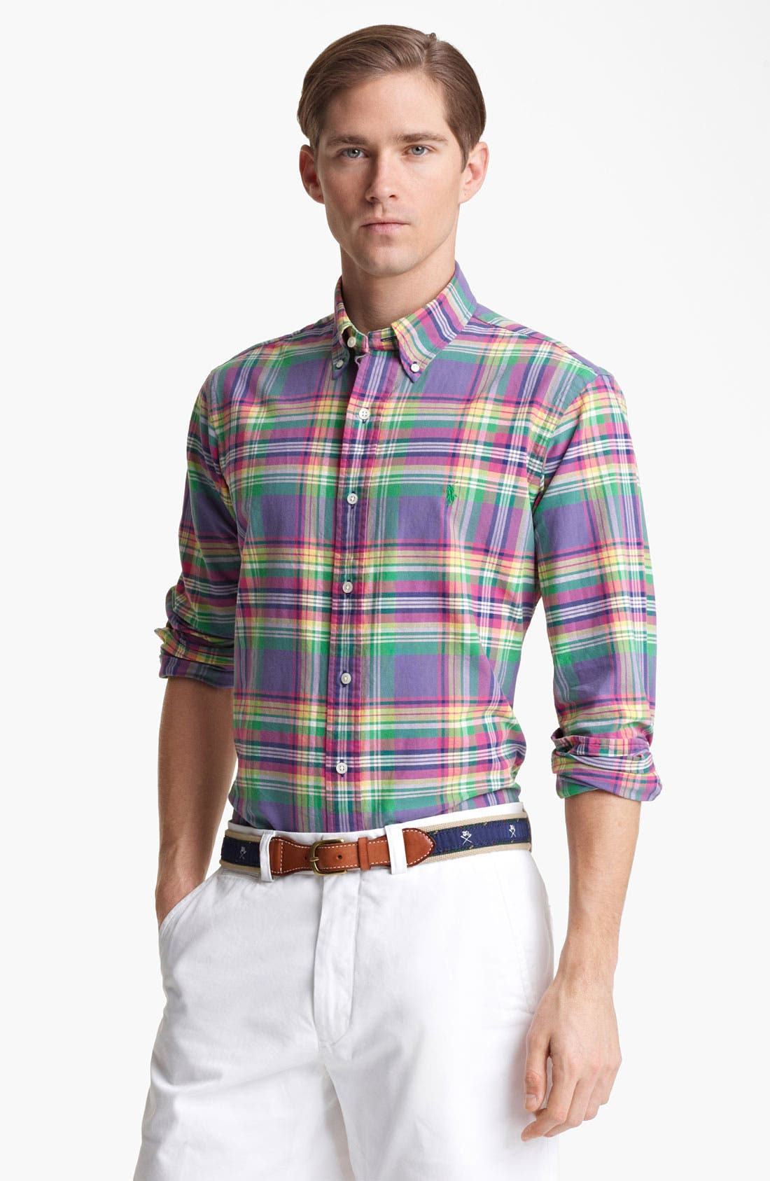 Main Image - Polo Ralph Lauren Custom Fit Sport Shirt