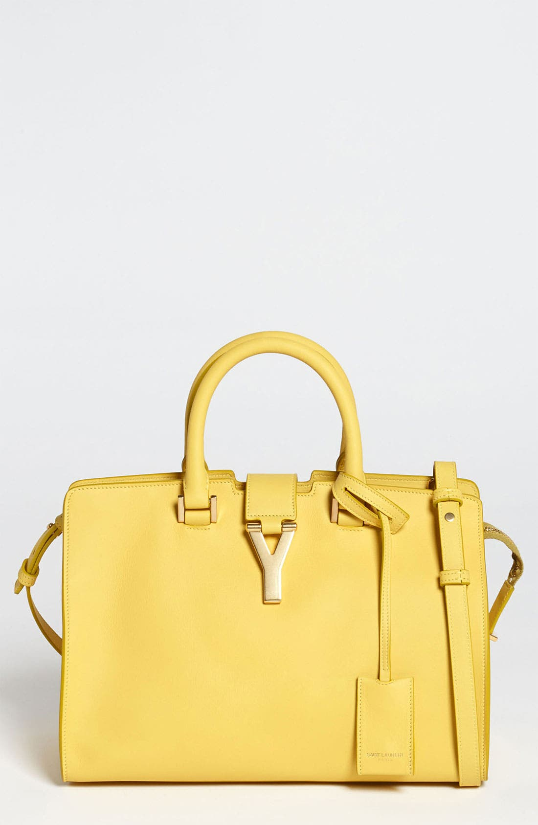 Alternate Image 1 Selected - Saint Laurent 'Petite Ligne Y' Leather Tote