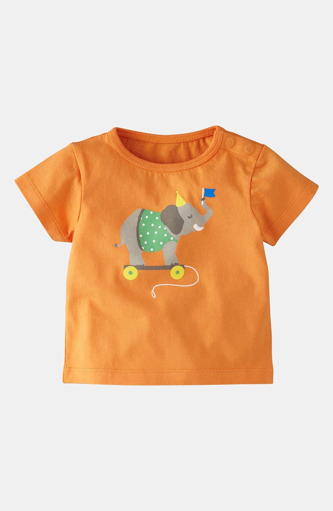 Alternate Image 1 Selected - Mini Boden 'Circus Animal' T-Shirt (Baby)