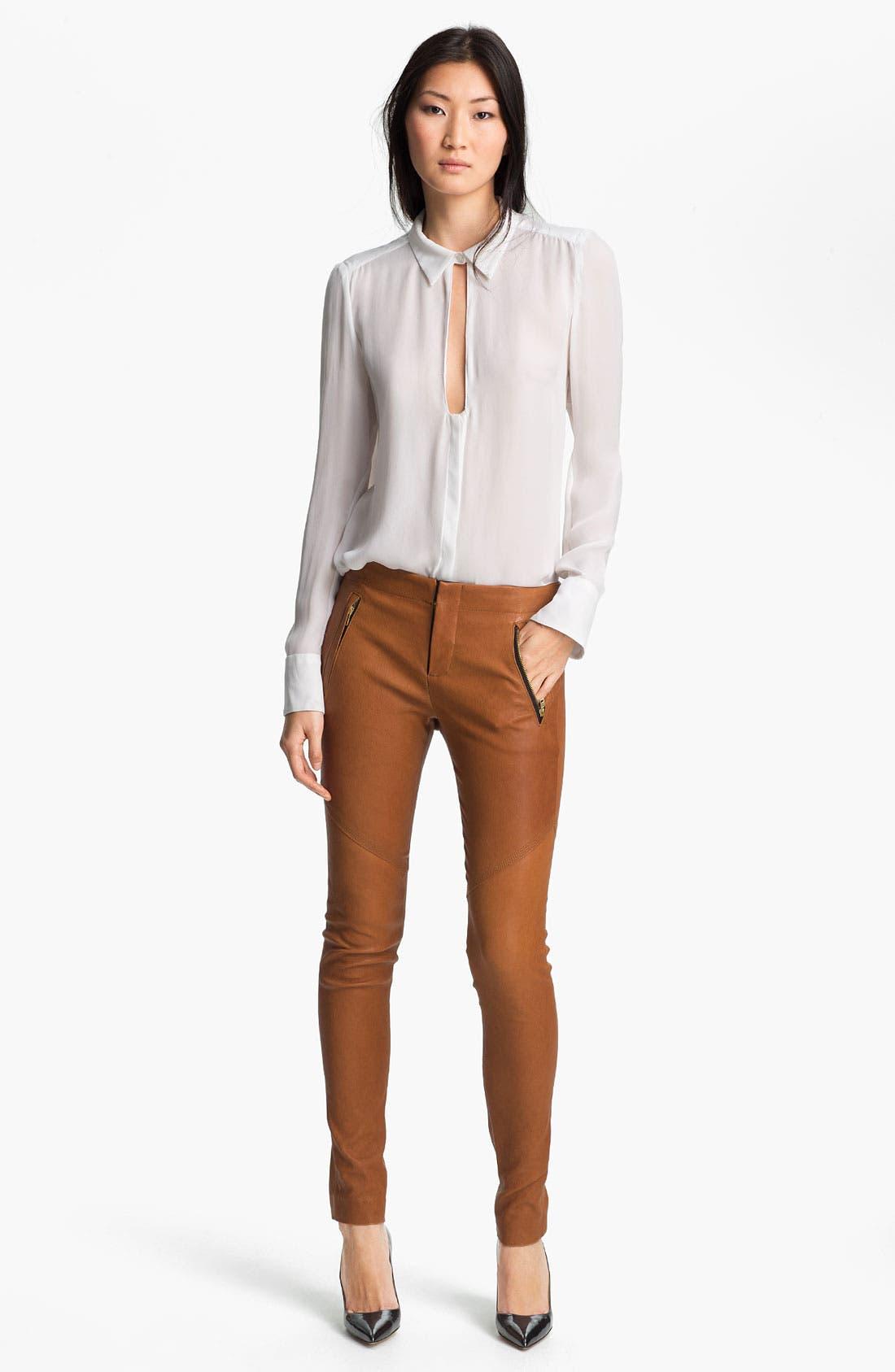 Alternate Image 7  - A.L.C. Leather Pants
