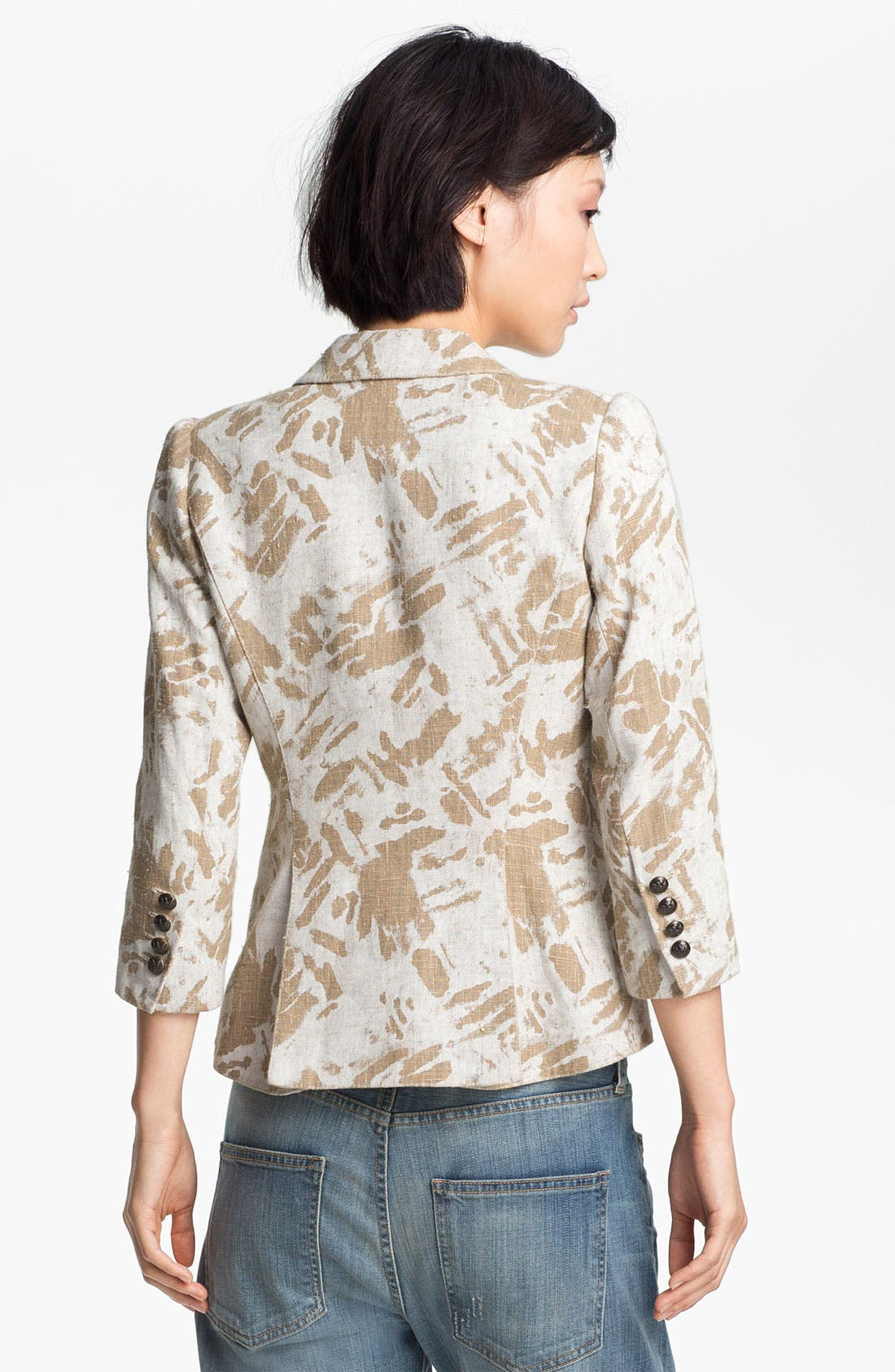 Alternate Image 3  - Smythe Graffiti Print Puff Sleeve Blazer