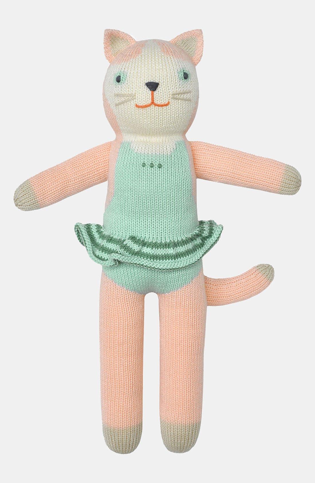 Main Image - Blabla 'Splash the Cat' Knit Doll