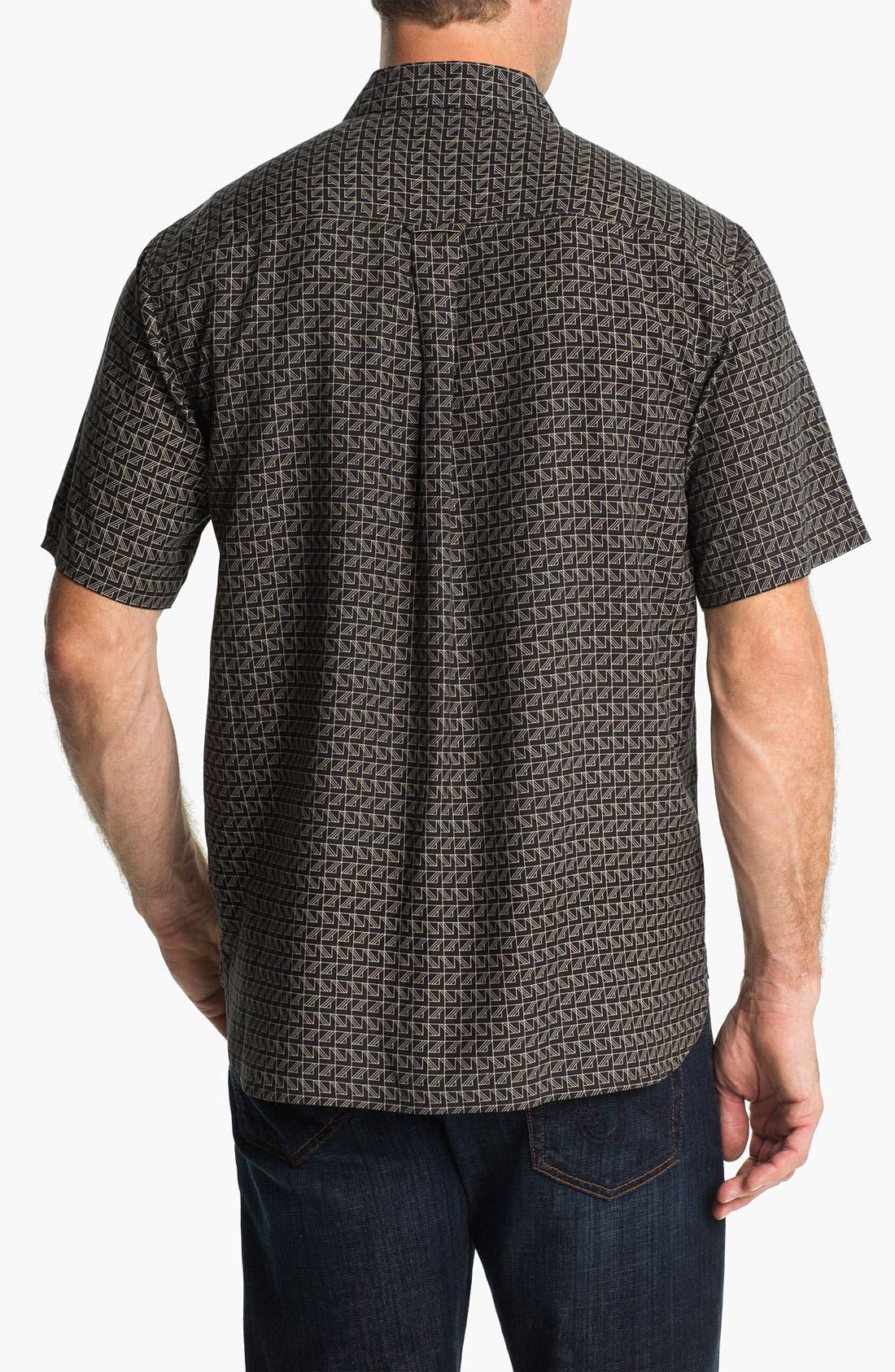 Alternate Image 2  - Nat Nast 'On Board' Silk Regular Fit Sport Shirt