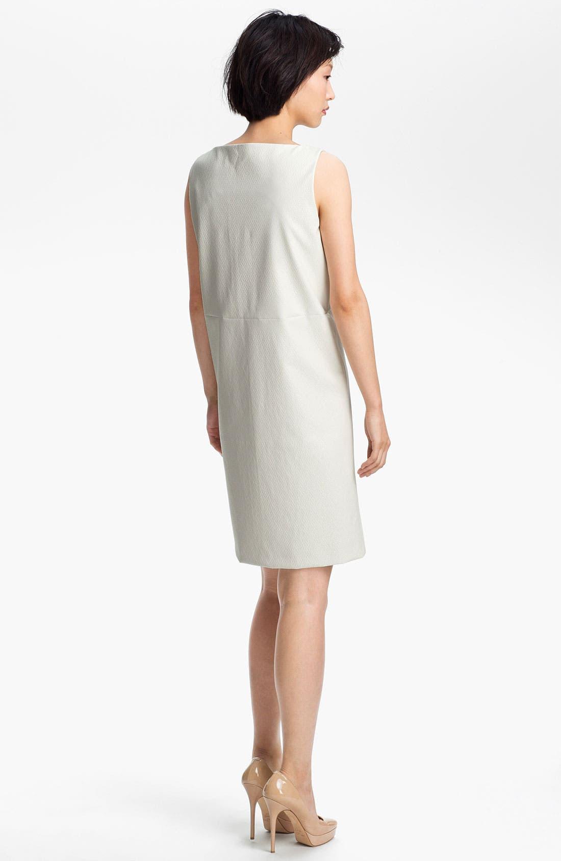 Alternate Image 2  - KENZO Coated Herringbone Shift Dress
