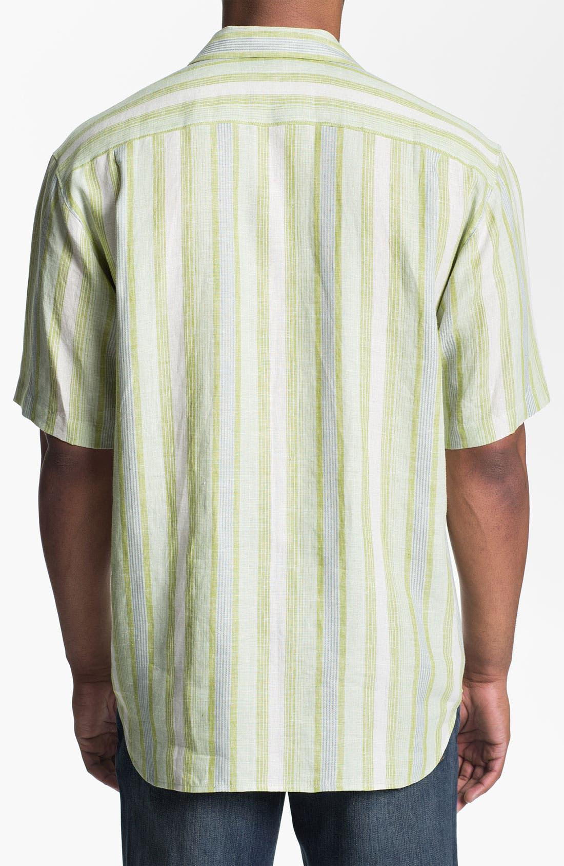 Alternate Image 2  - Tommy Bahama 'Aquarina' Linen Sport Shirt