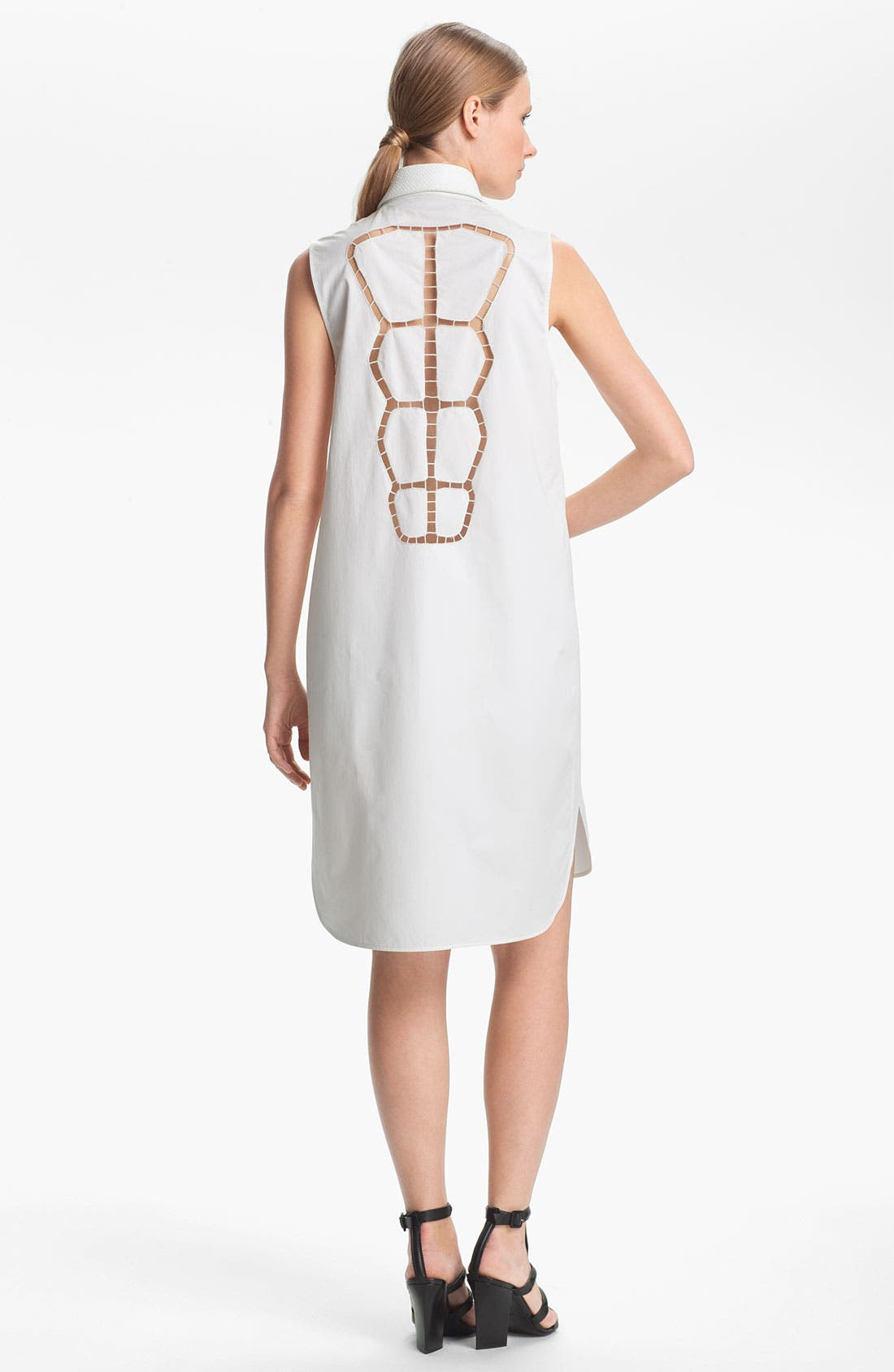 Alternate Image 2  - Alexander Wang Double Layered Shirtdress