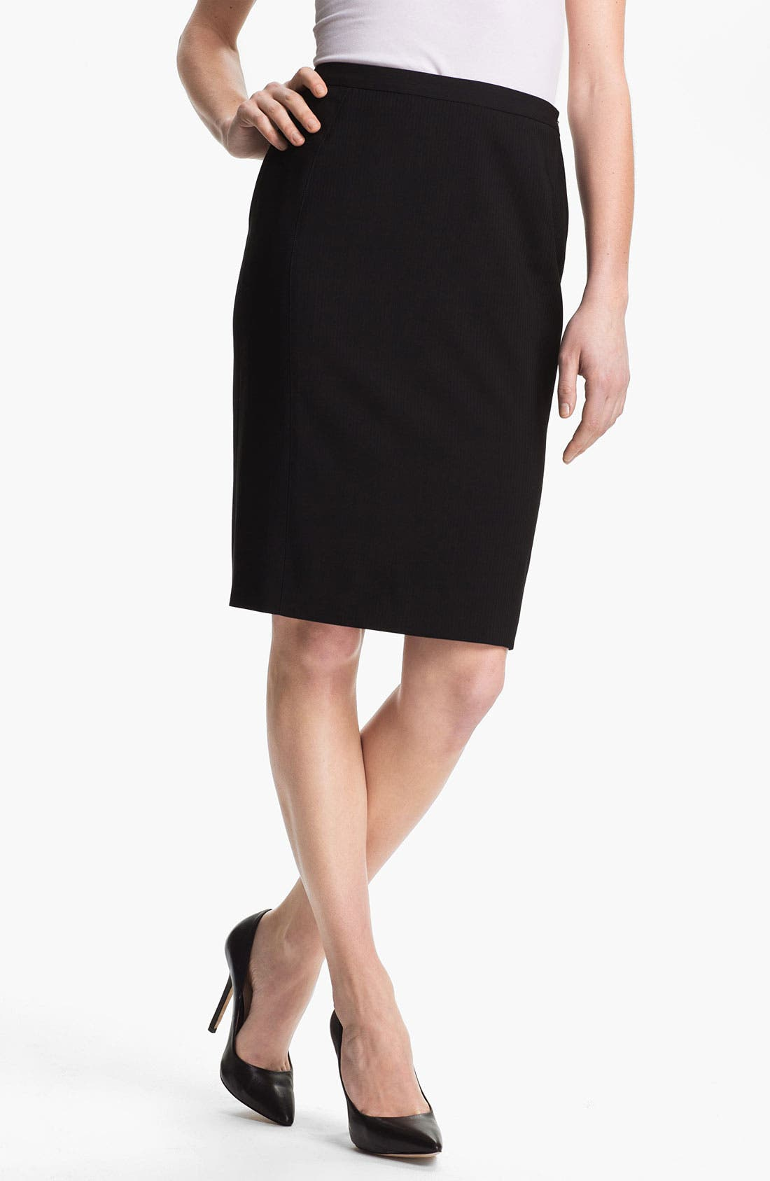 Alternate Image 1 Selected - Zanella 'Carol' Virgin Wool Skirt