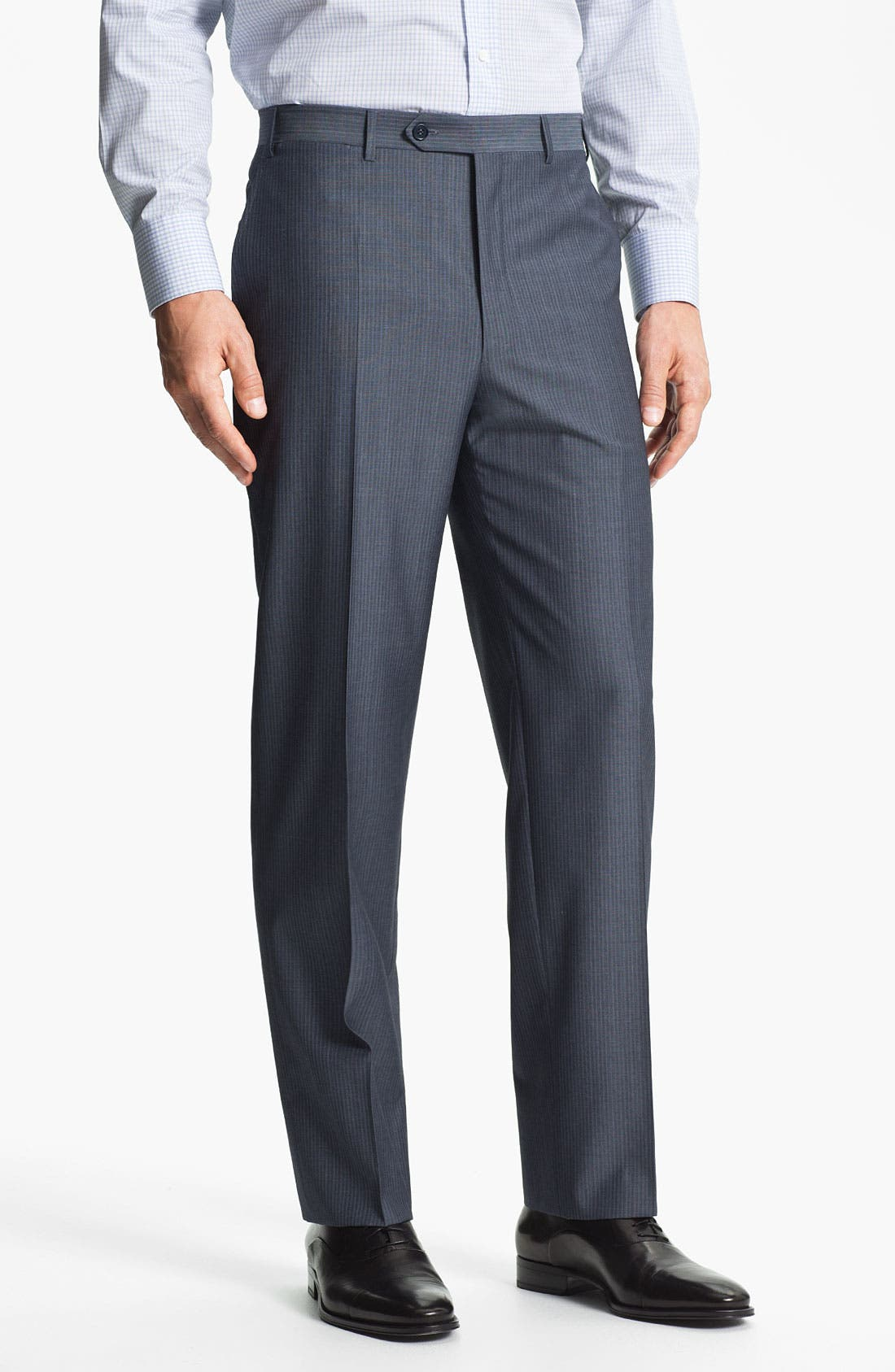 Alternate Image 4  - Canali Stripe Wool Suit