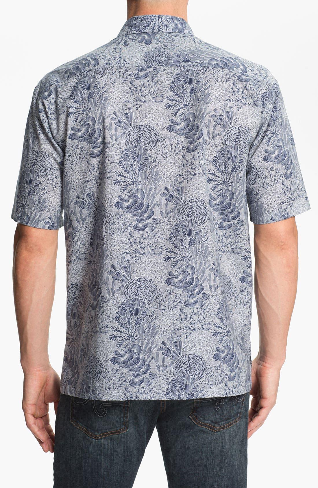 Alternate Image 2  - Tori Richard 'Good Reef!' Regular Fit Sport Shirt